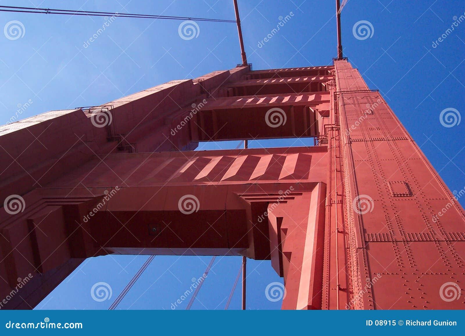 De gouden Toren van de Poort