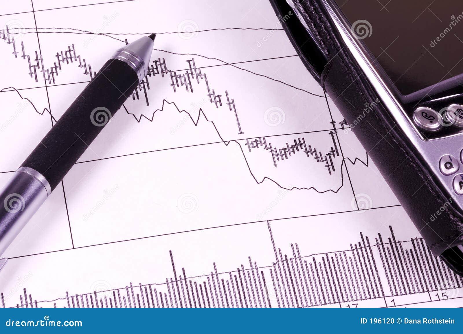 De Grafiek van de voorraad