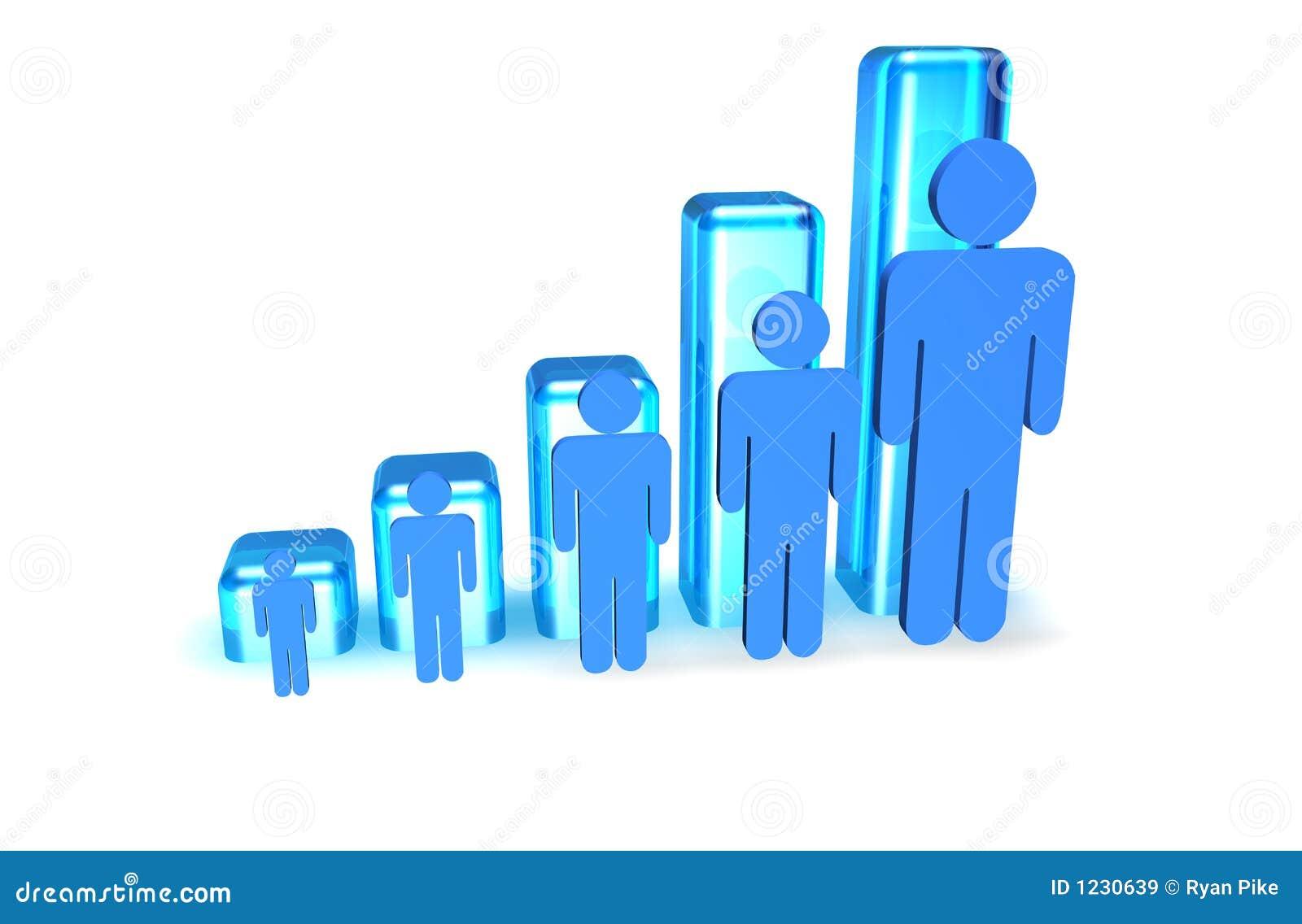 De Grafiek van mensen