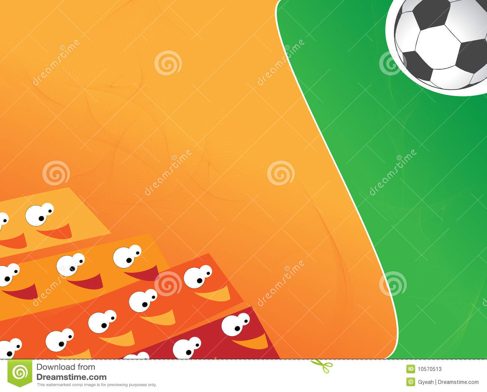 Grappige Citaten Voetbal : De grappige achtergrond van het voetbal stock foto s
