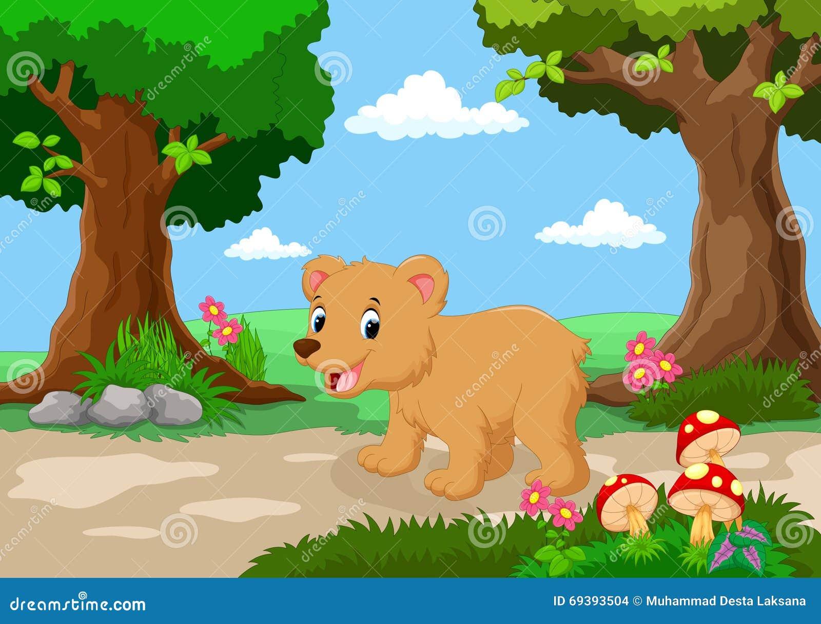 De grappige baby draagt met een achtergrond van een mooie tuin stock illustratie afbeelding - Een mooie kamer van een mooie meid ...