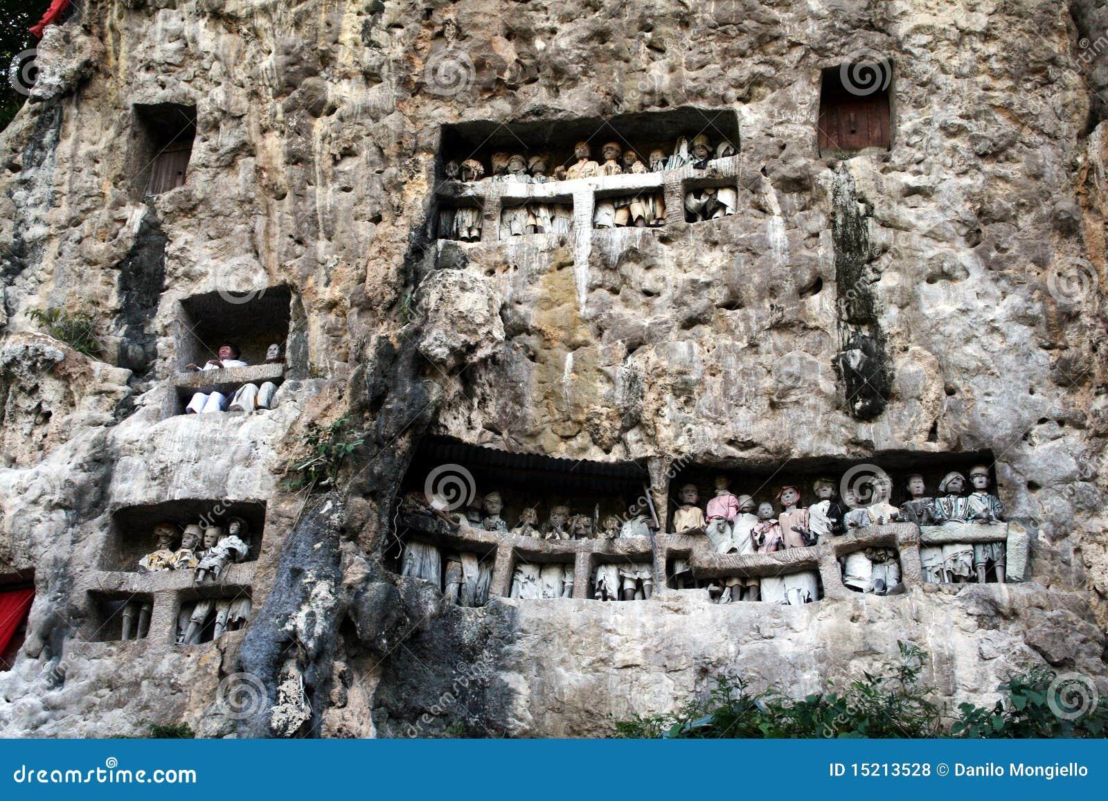 De graven van Toraja