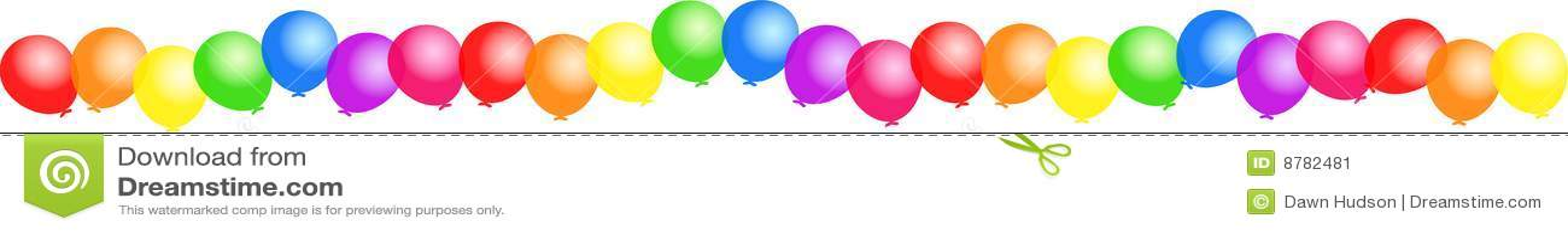 De grens van de ballon