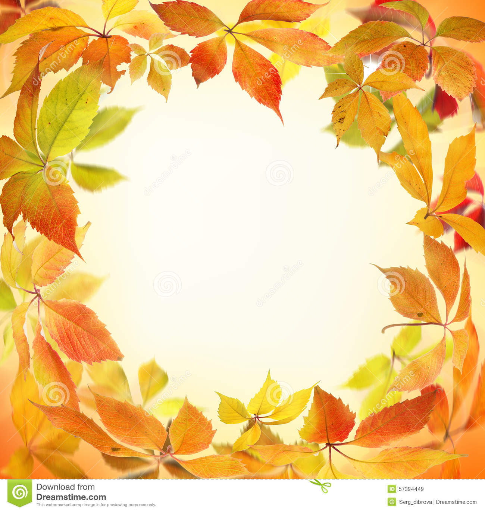 De Grens van de herfst Blauwe hemel