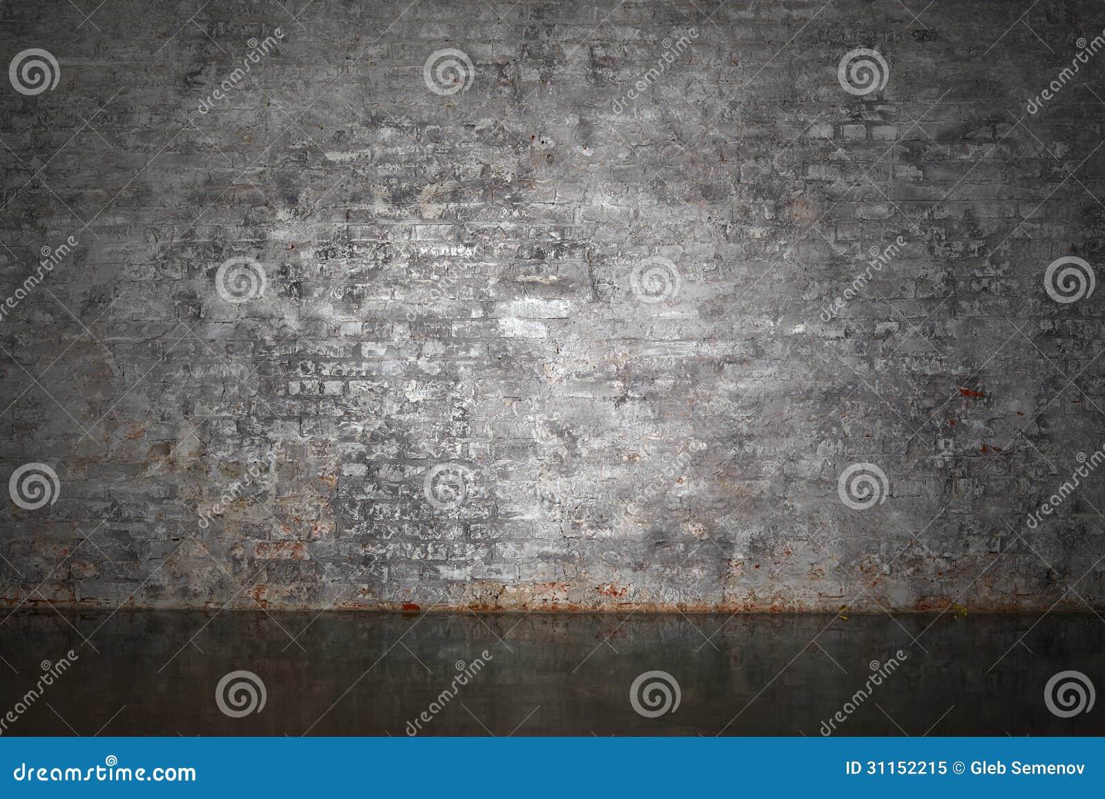De grijze bakstenen muur royalty vrije stock foto afbeelding 31152215 for Grijze muur