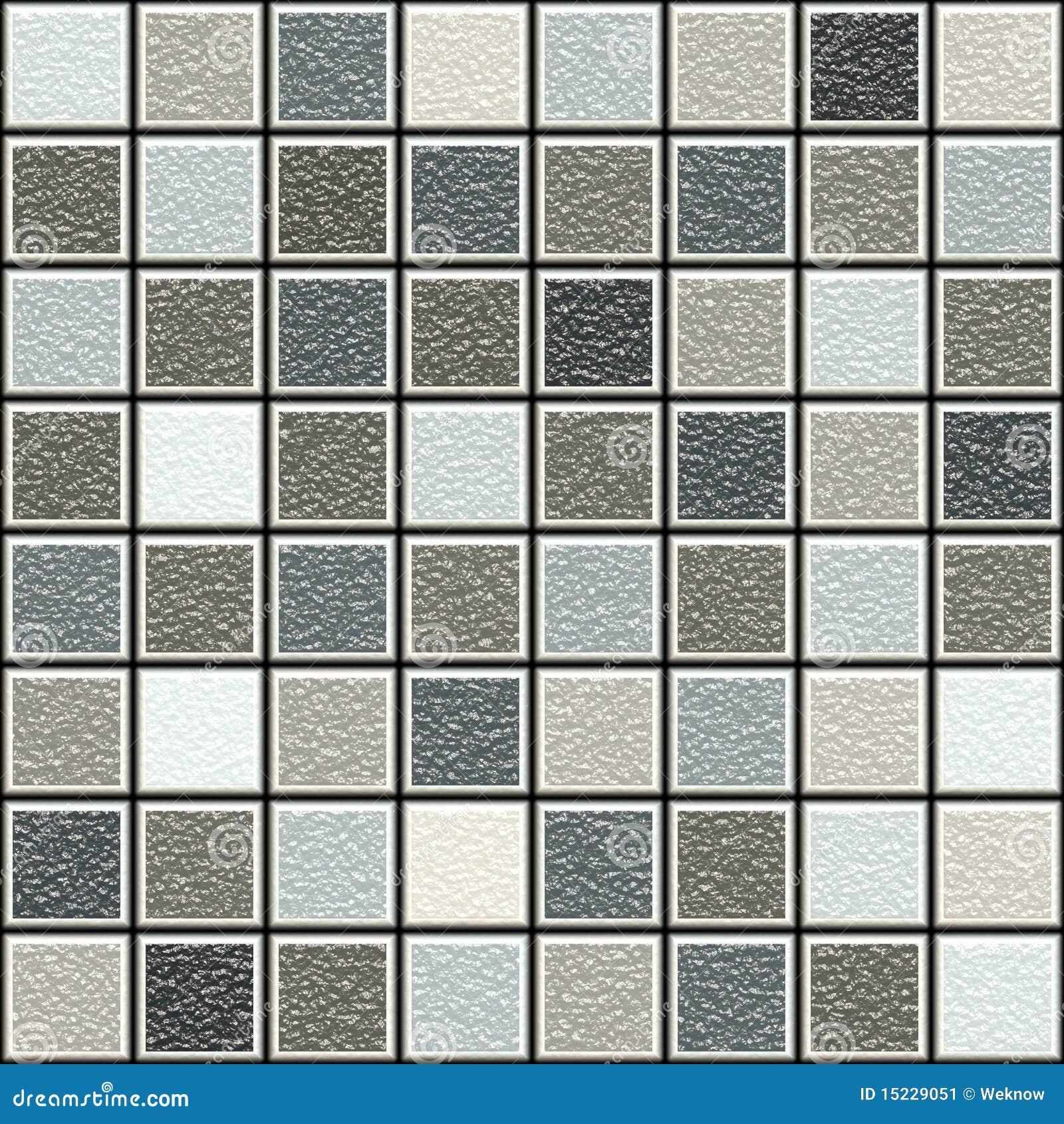 De grijze en bruine 3d structuur betegelt patroon
