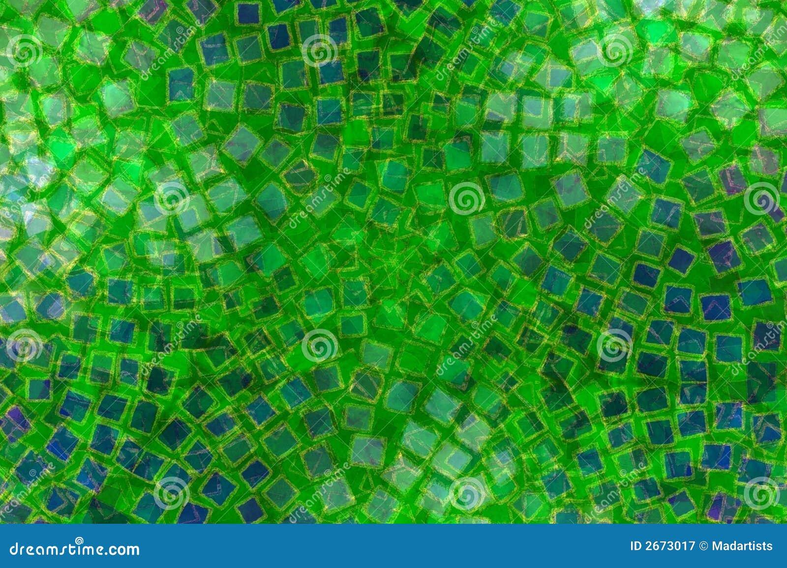 De groene tegels van de patronen van het moza ek royalty vrije stock fotografie afbeelding - Groene metro tegels ...