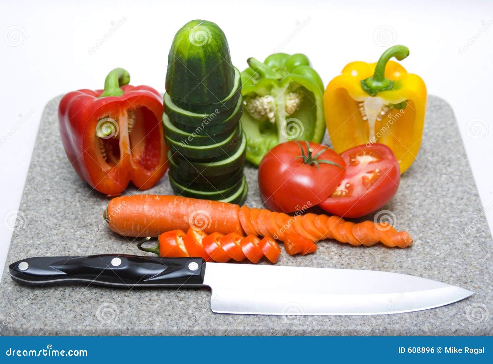 De groenten van de besnoeiing