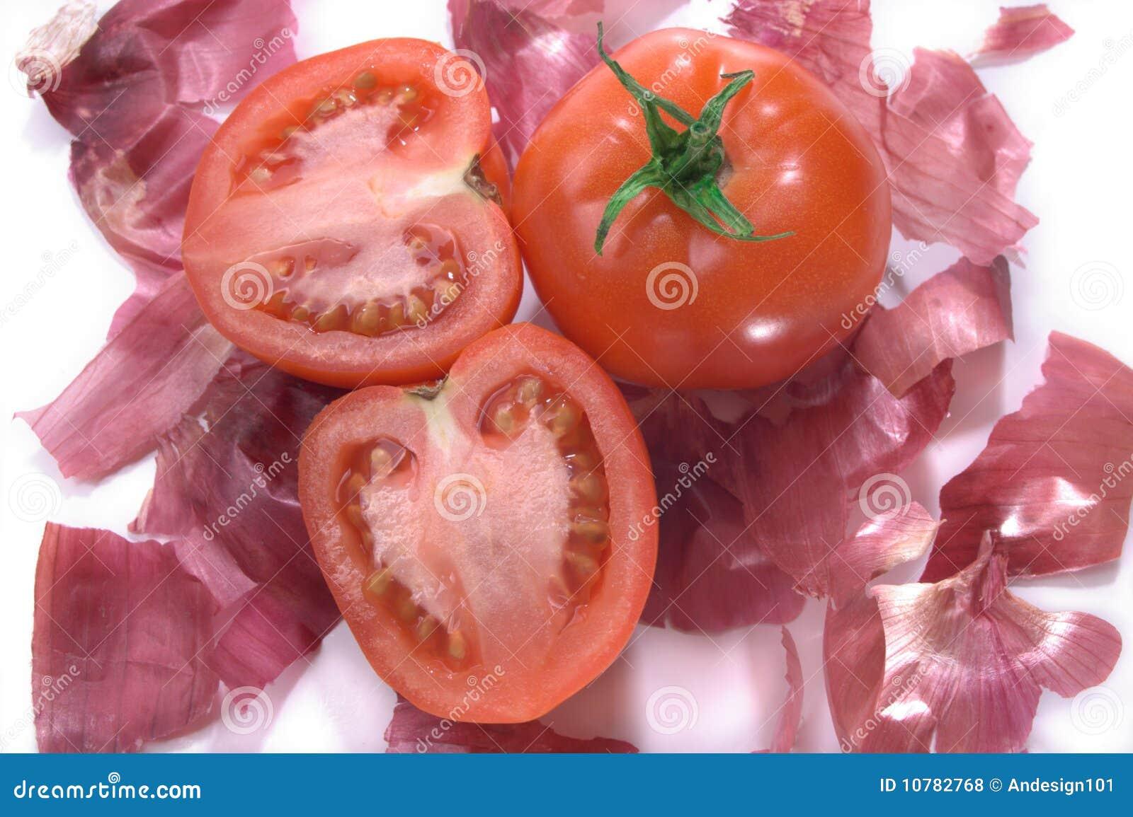 De groep van de tomaat