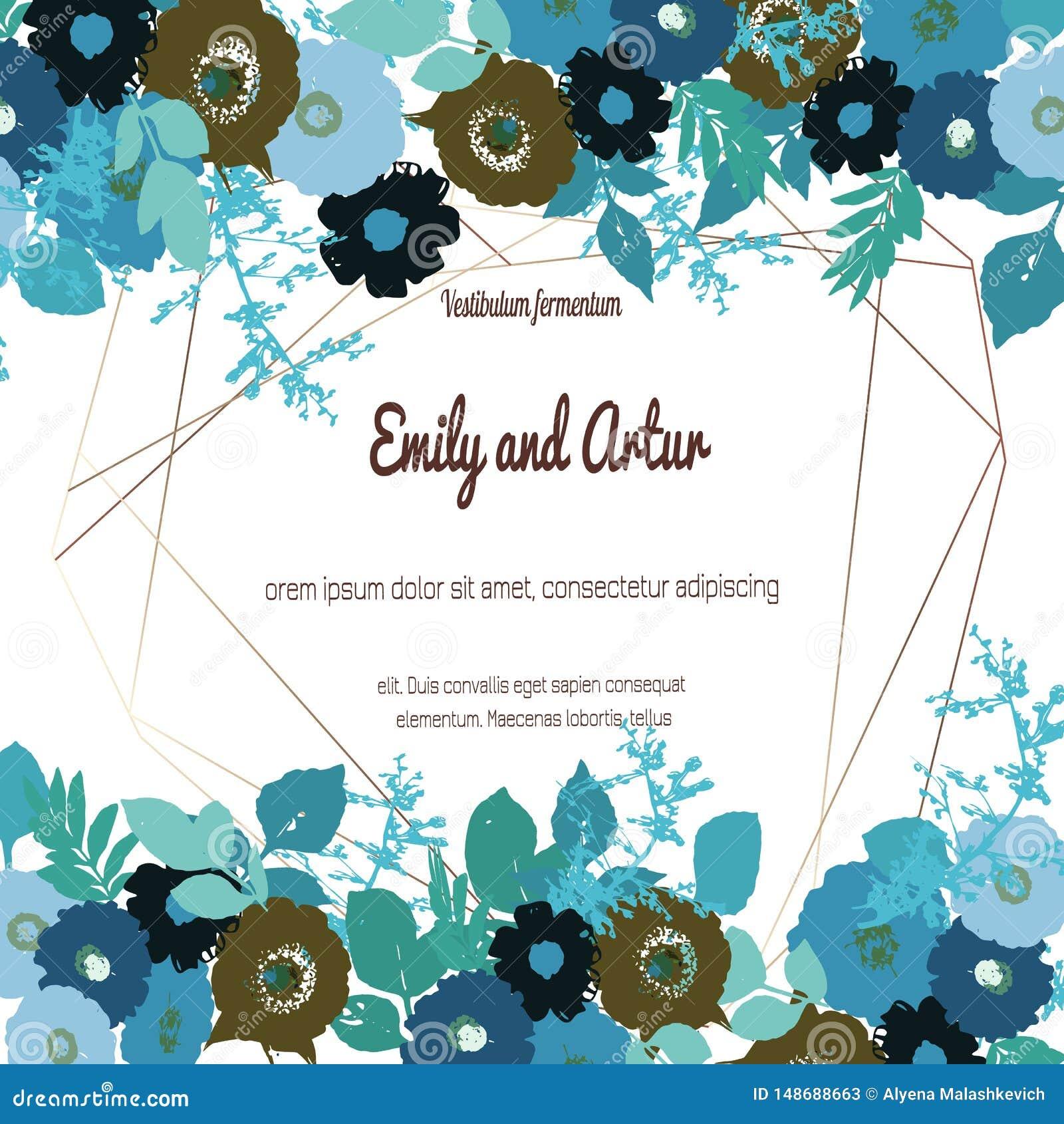 De groetkaart met rozen, kan als uitnodigingskaart voor huwelijk, verjaardag en andere vakantie en de zomerachtergrond worden geb