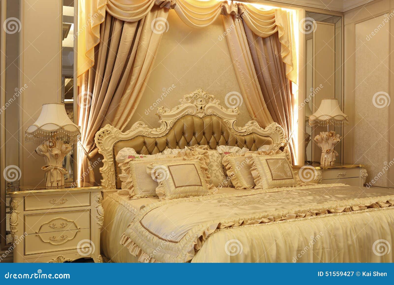 De grootsheid van de slaapkamer stock foto afbeelding 51559427 - Foto van volwassen slaapkamer ...