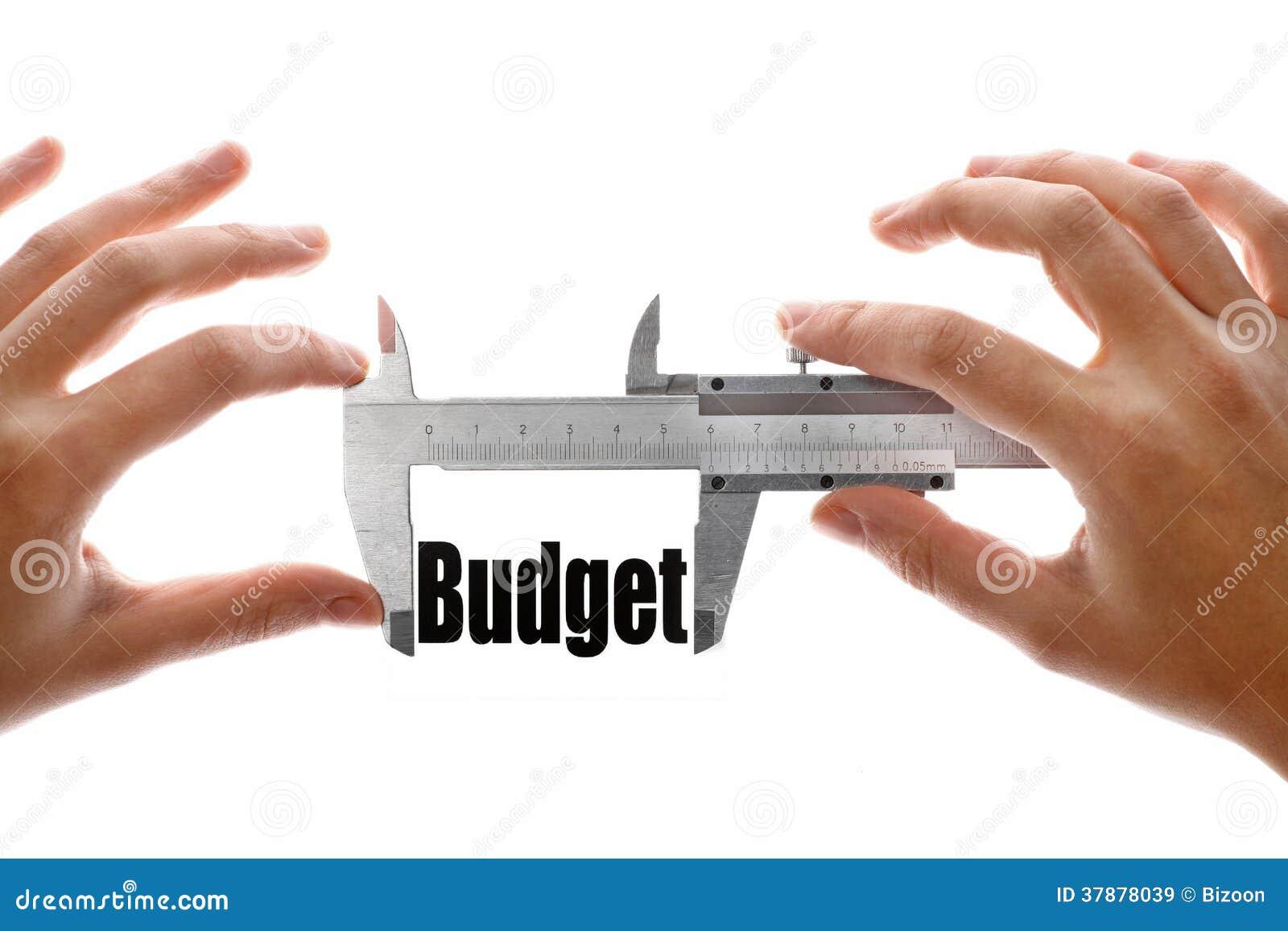 De grootte van onze begroting