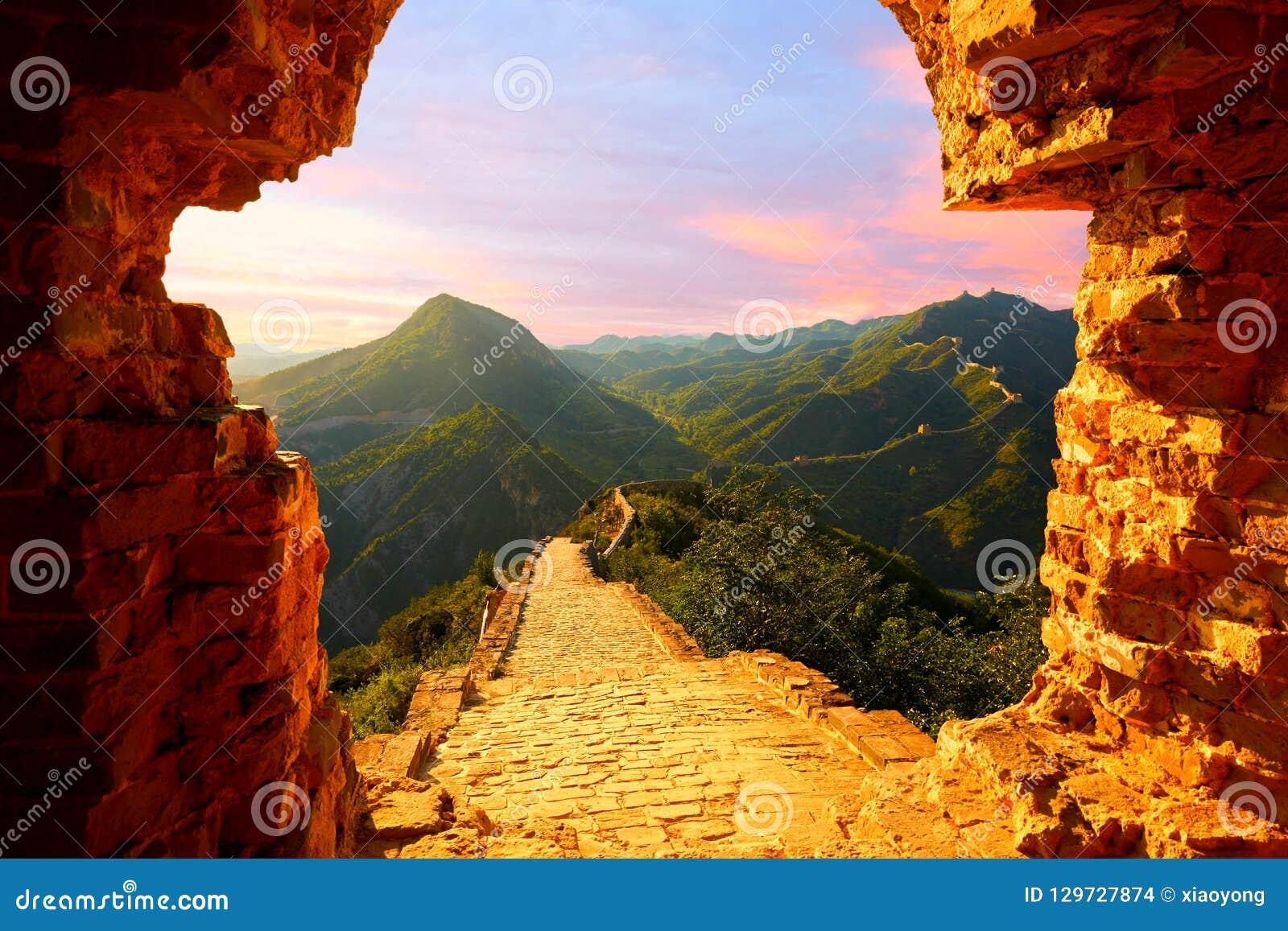 De grote Muur, Peking, China