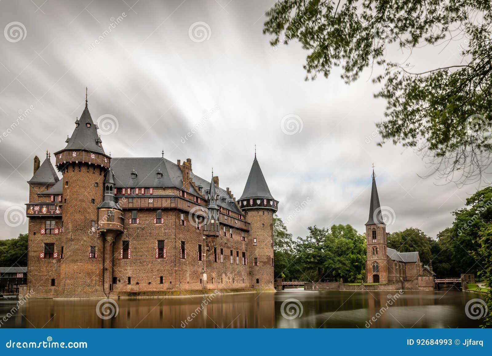 De Haar Castle is the biggest castle in The Netherlands