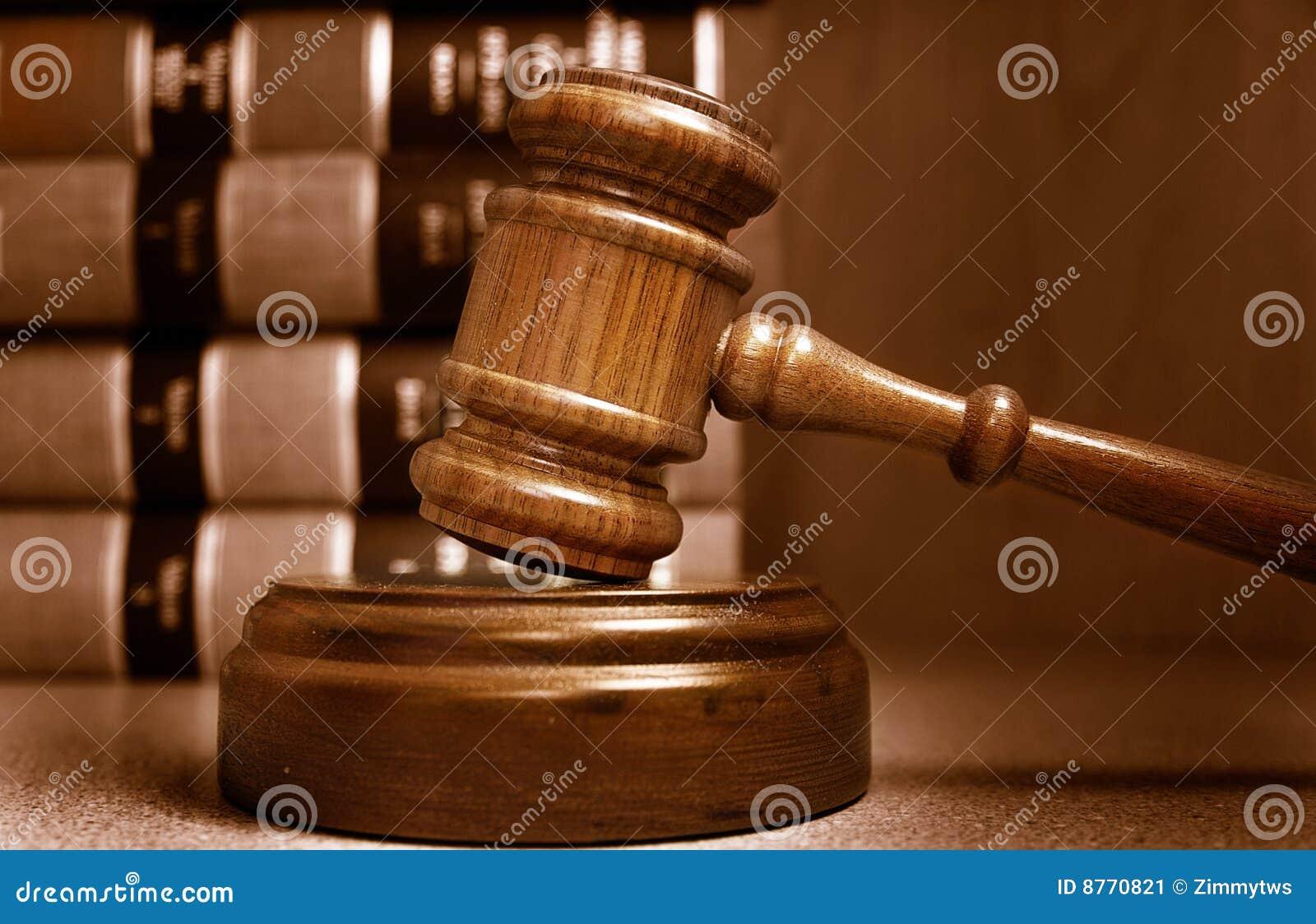 De hamer van de rechter