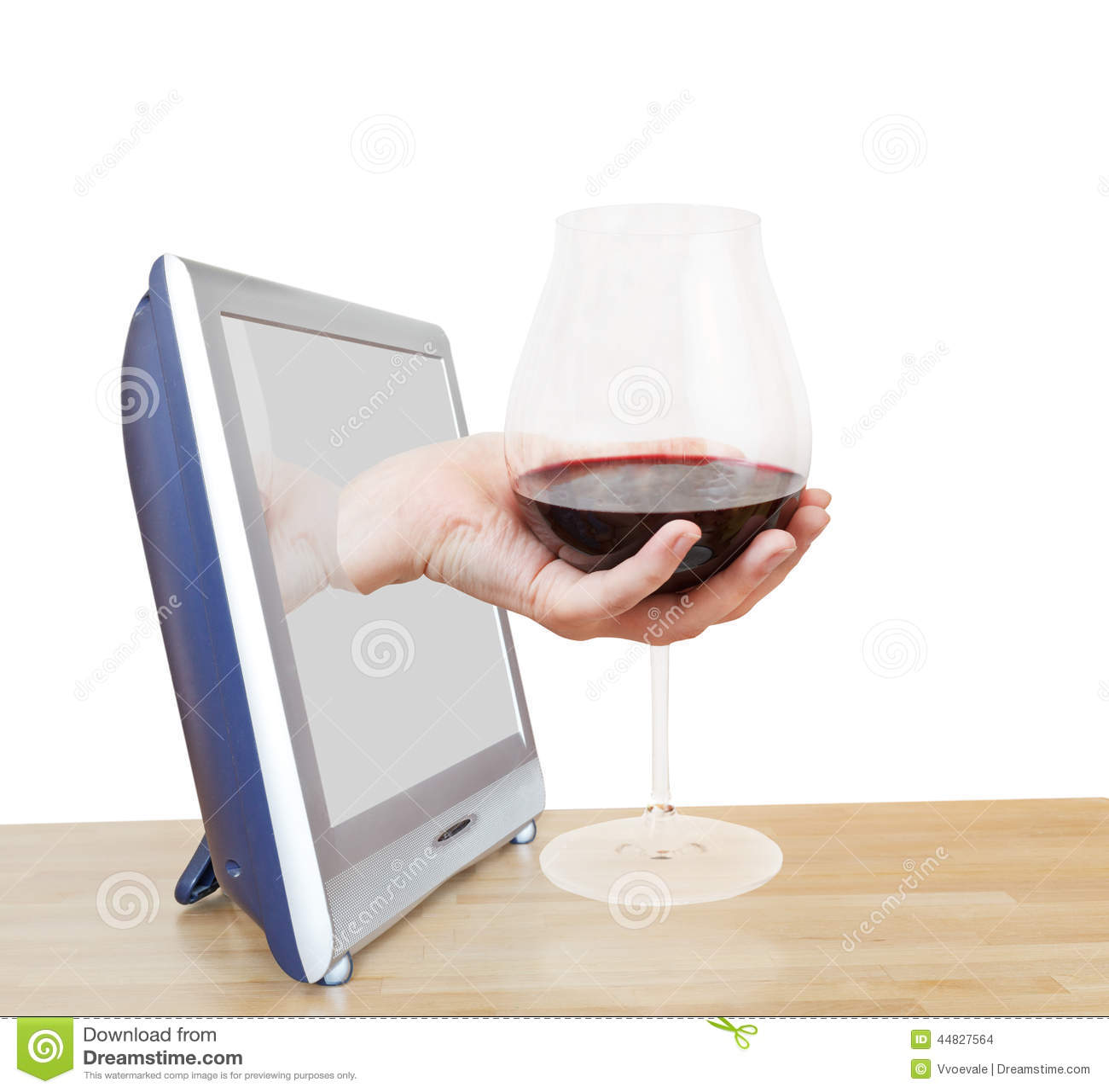 rode wijn groot glas