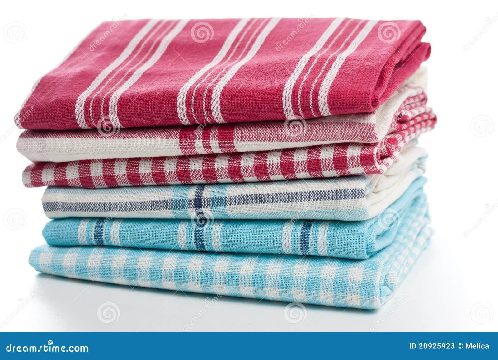 Achtergrond Witte Keuken : De Handdoeken Van De Keuken Stock Fotos ...