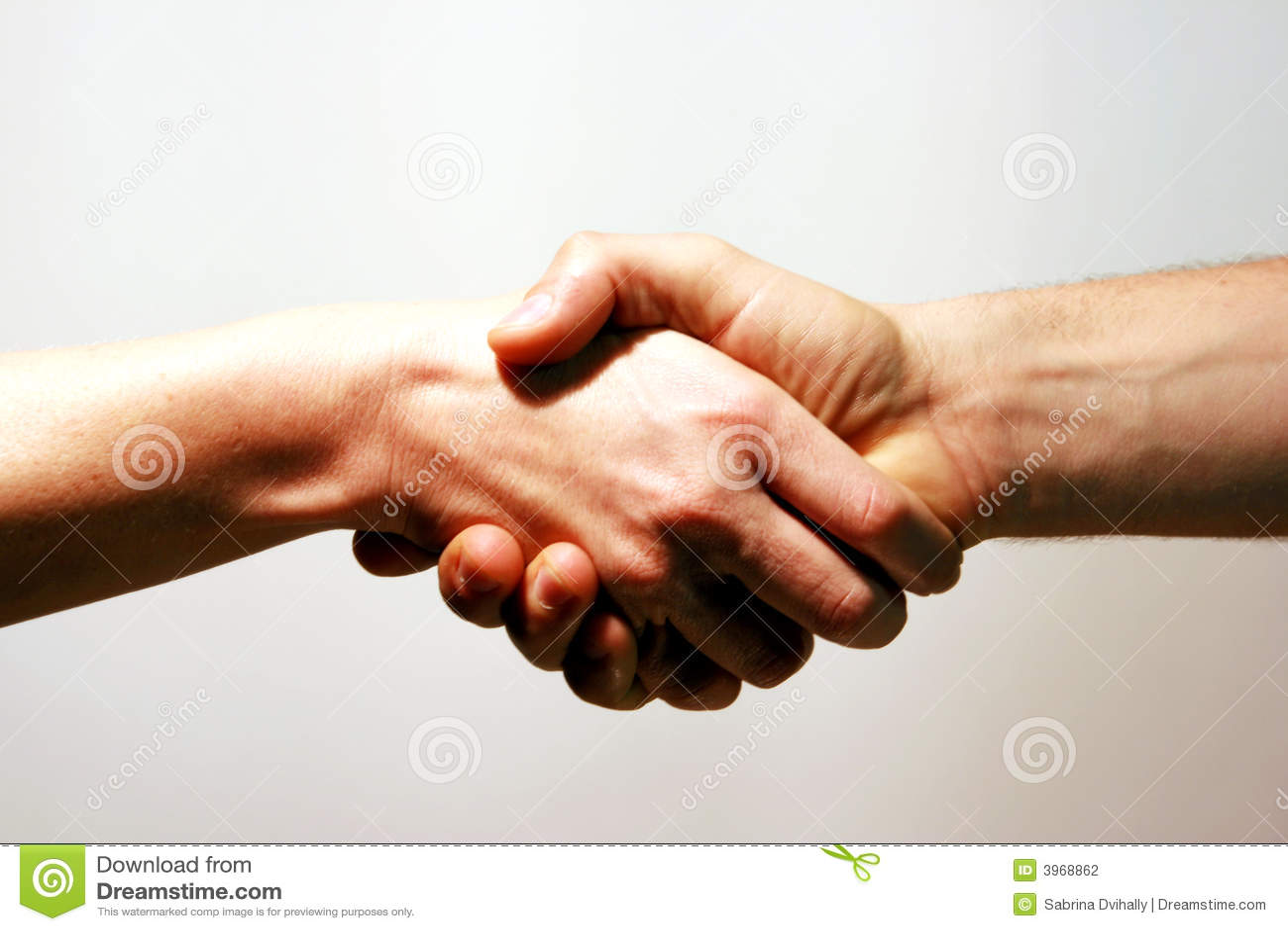 De Handdruk van de overeenstemming