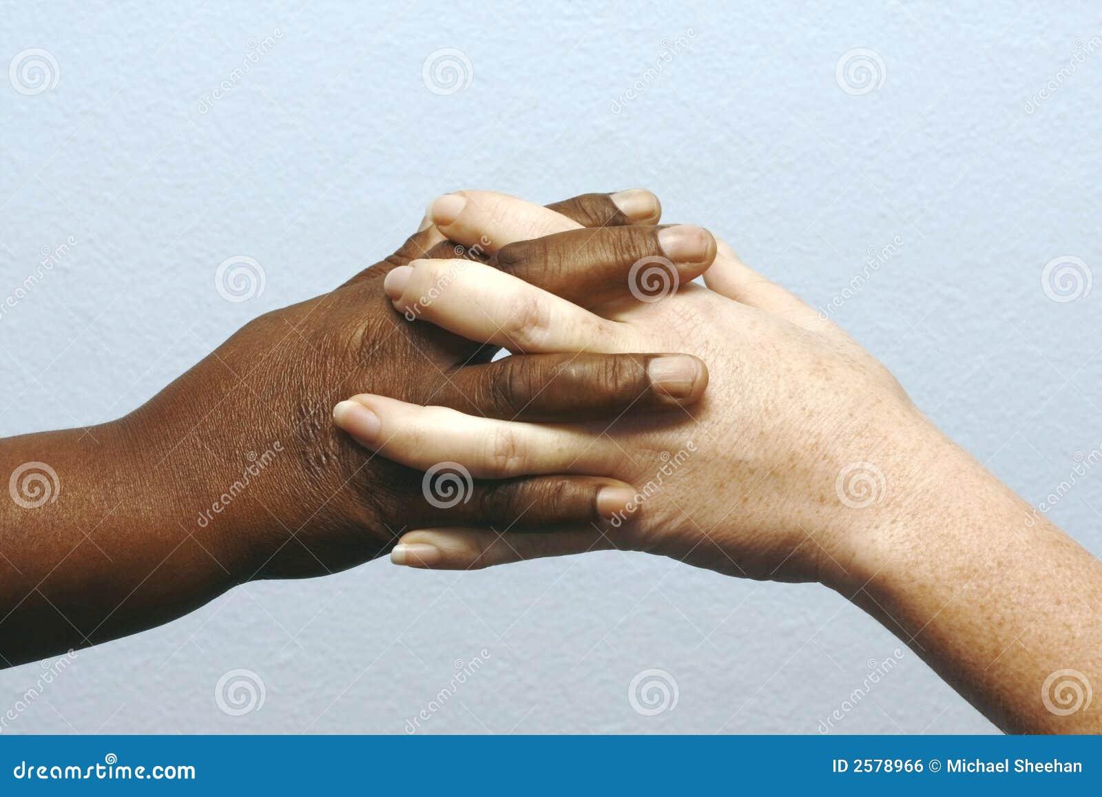 De handen van Clasping