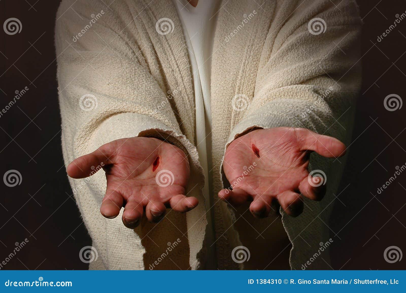 De handen van Jesus