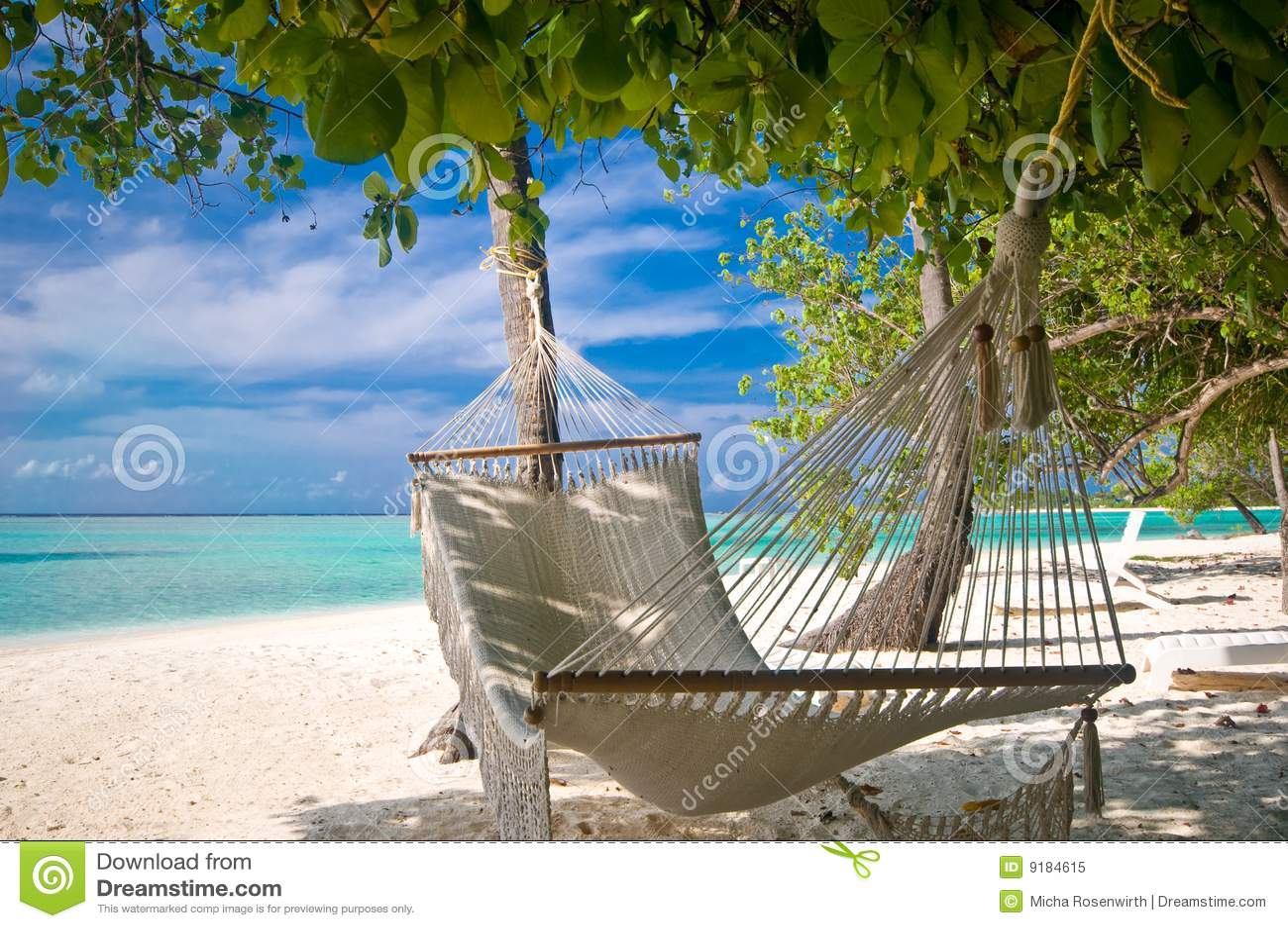 De Hangmat van het strand
