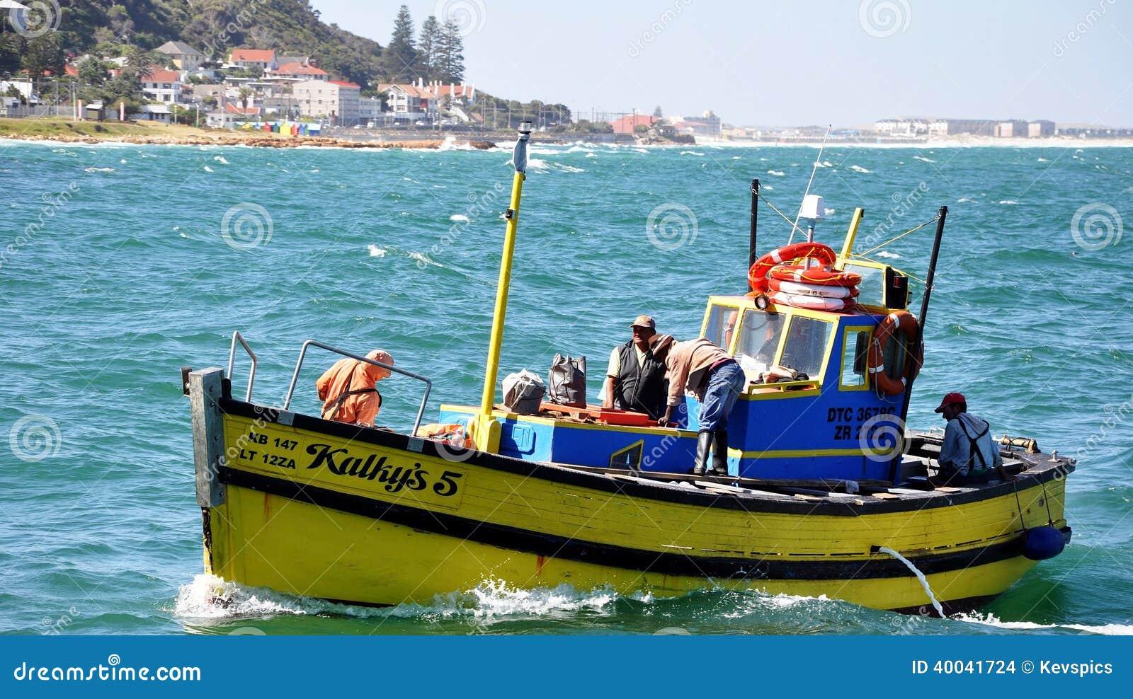 De Haven Cape Town, Zuid-Afrika van de Kalkbaai
