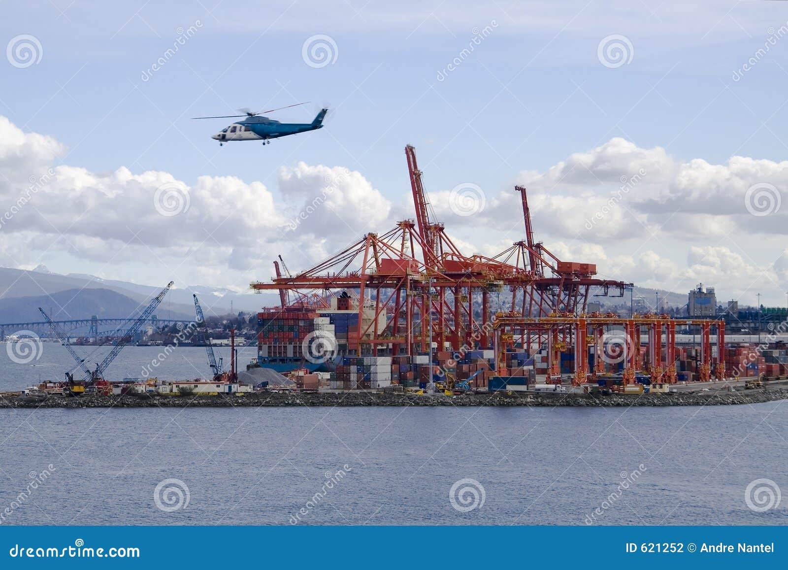 De Haven van de container