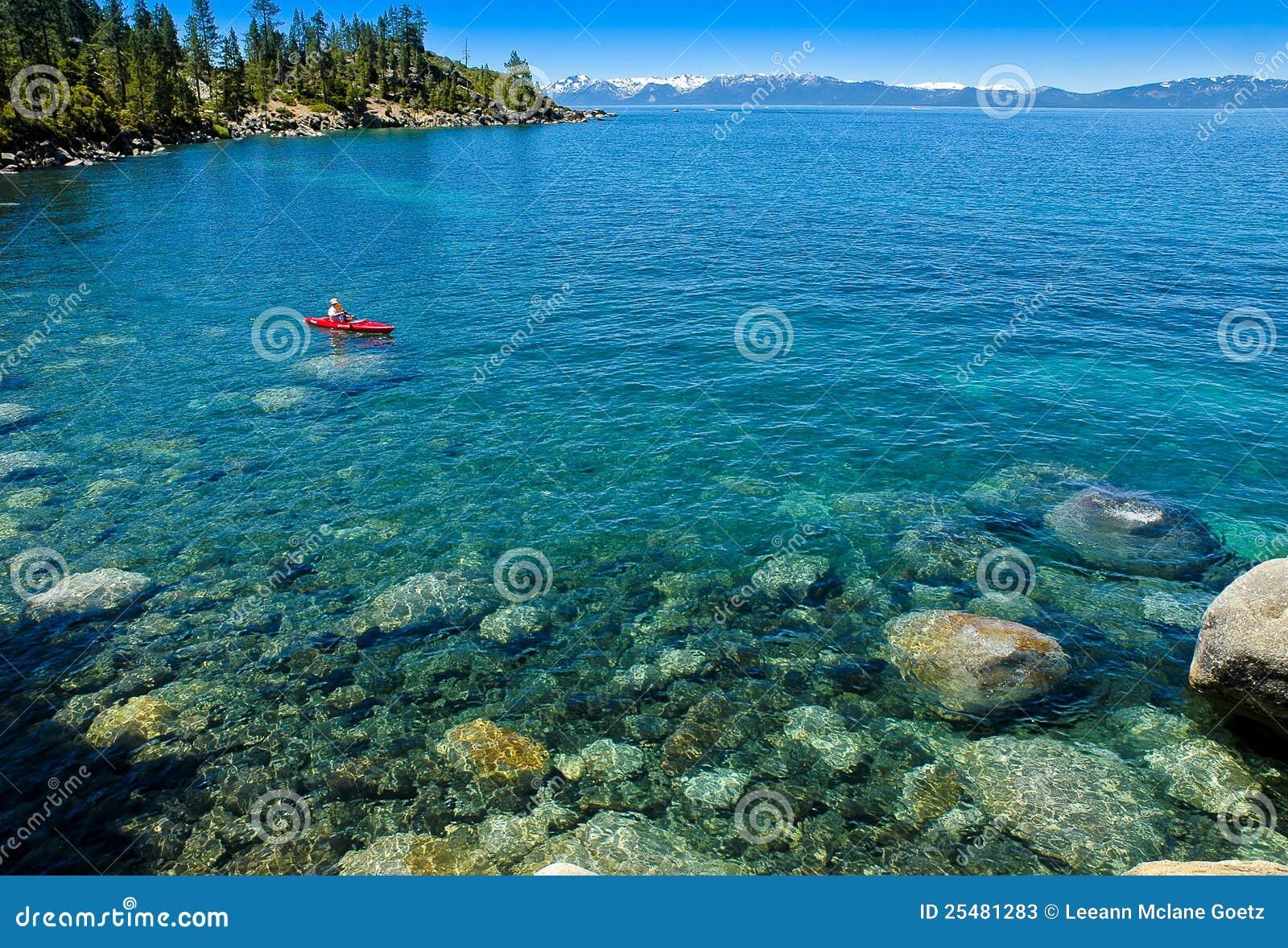 De Haven van het zand - het Park van de Staat van tahoe-Nevada van het Meer