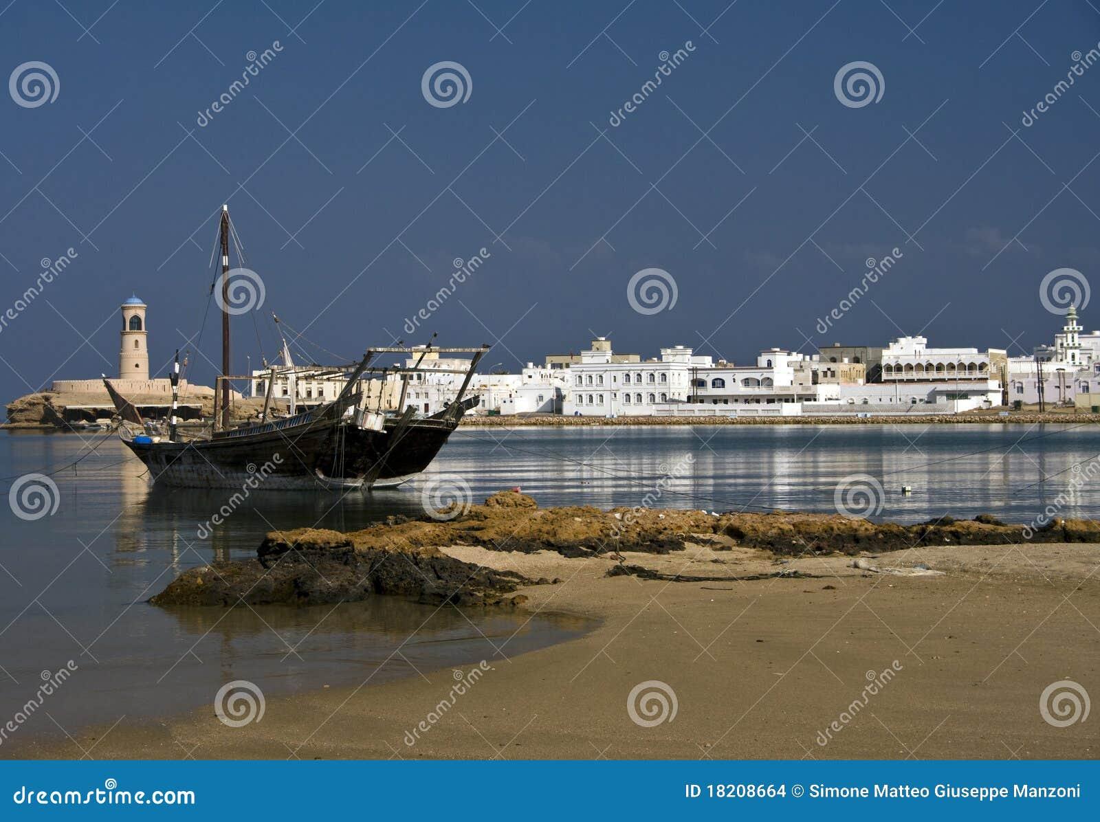 De haven van Sur, Oman
