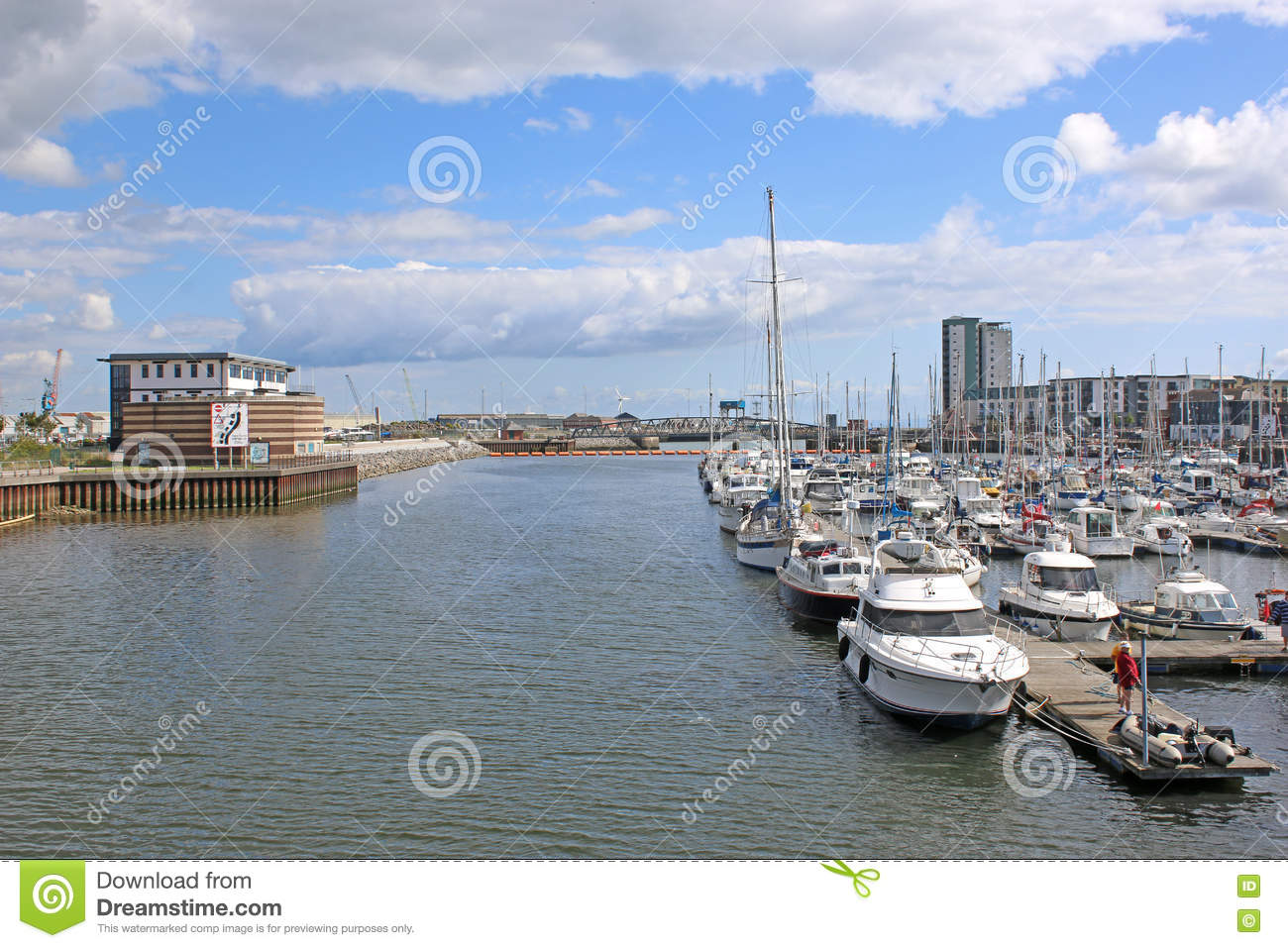De Haven van Swansea, Wales