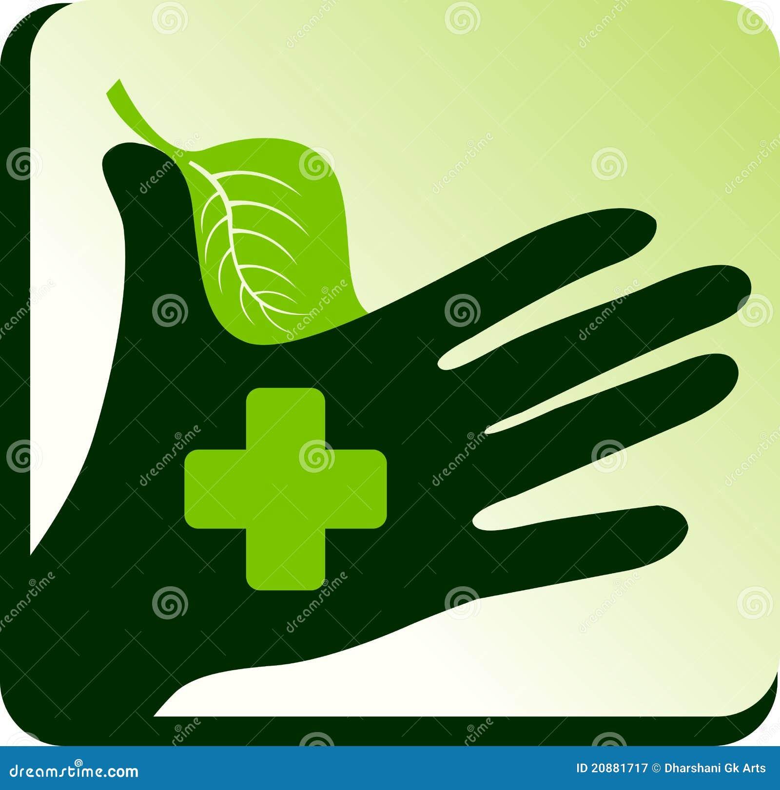 De hearbal arts van de hand