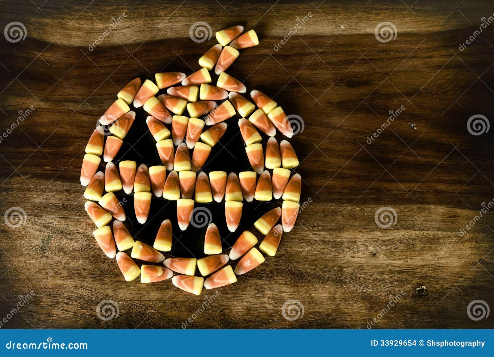 De hefboom-o-Lantaarn van het suikergoedgraan met hoektanden