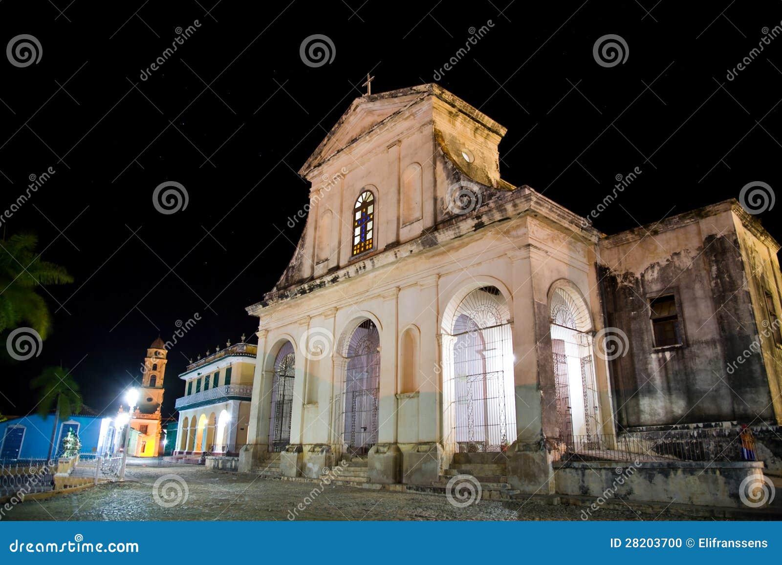 De heilige Kerk van de Drievuldigheid, Trinidad, Cuba