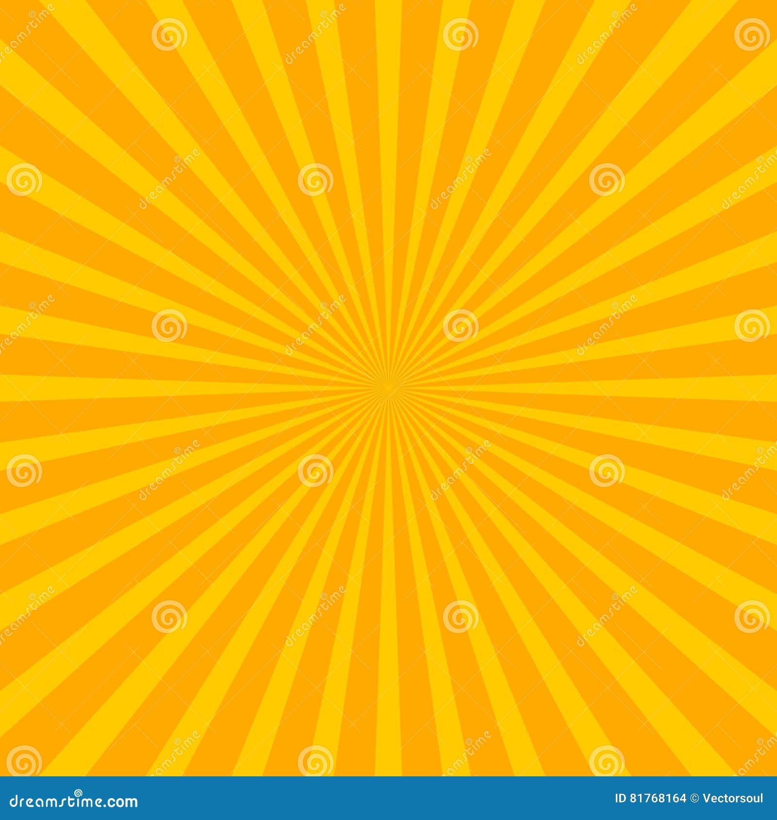 De heldere achtergrond van de starburstzonnestraal met regelmatige uitstralende Li