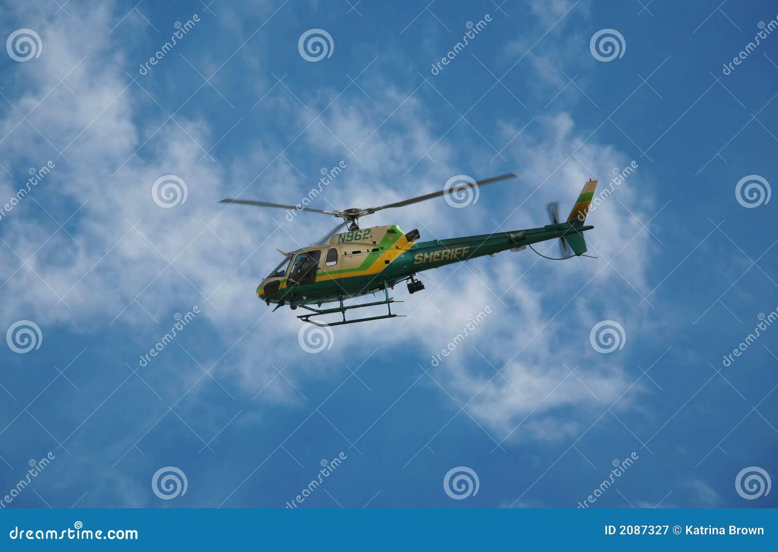De Helikopter van de Handhaving van de wet