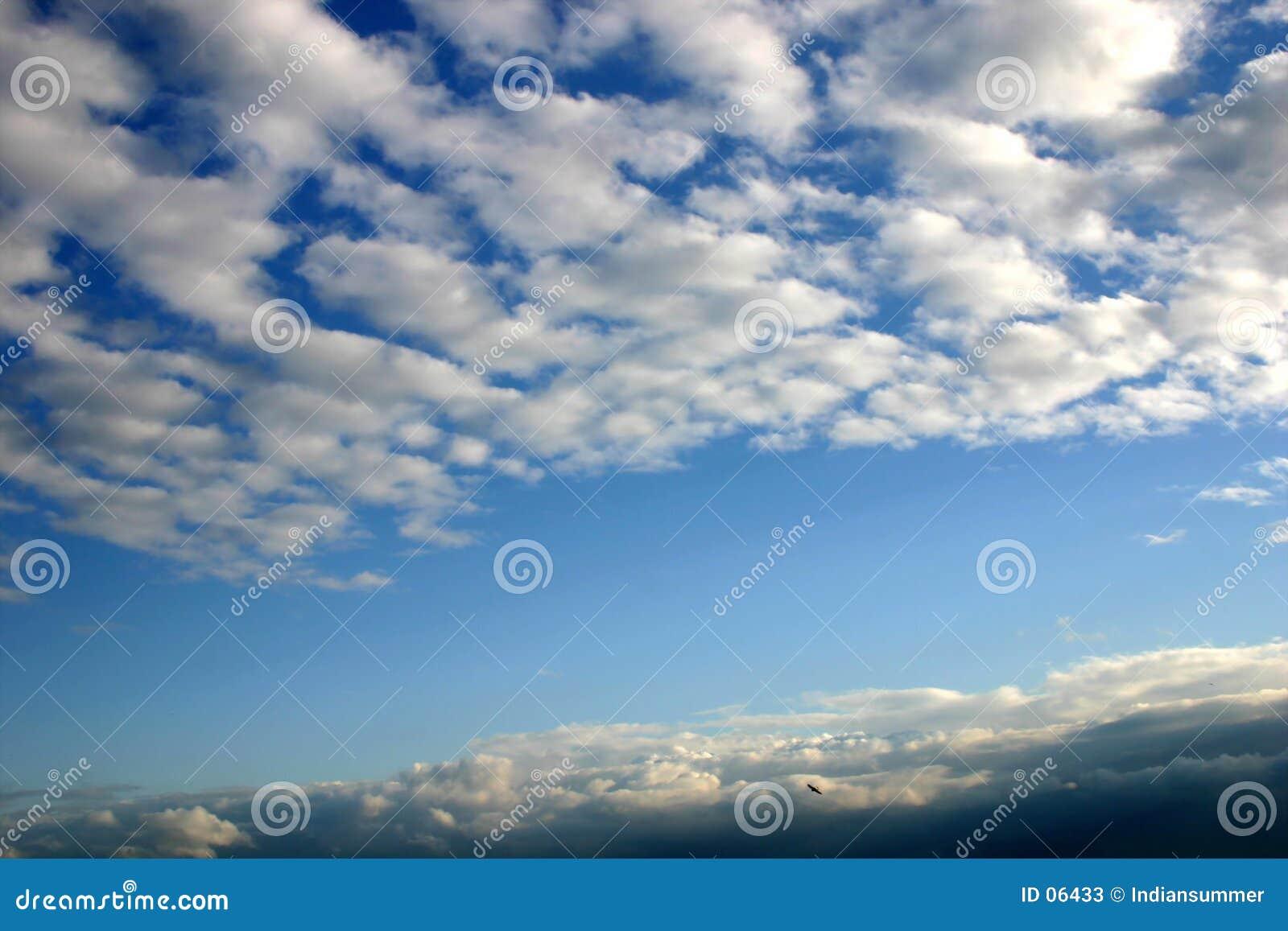 De hemel van de zomer