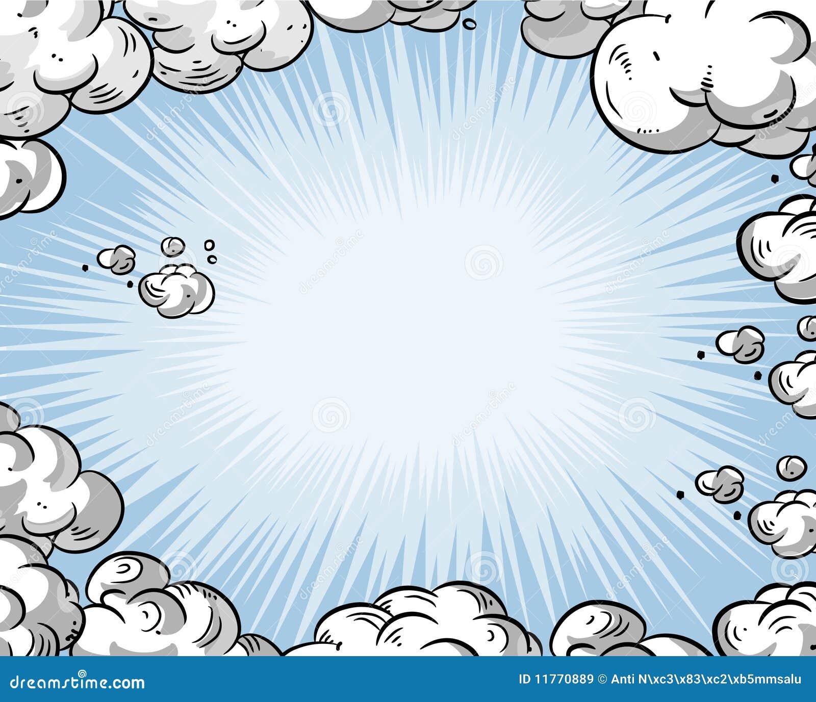 De hemel van het beeldverhaal