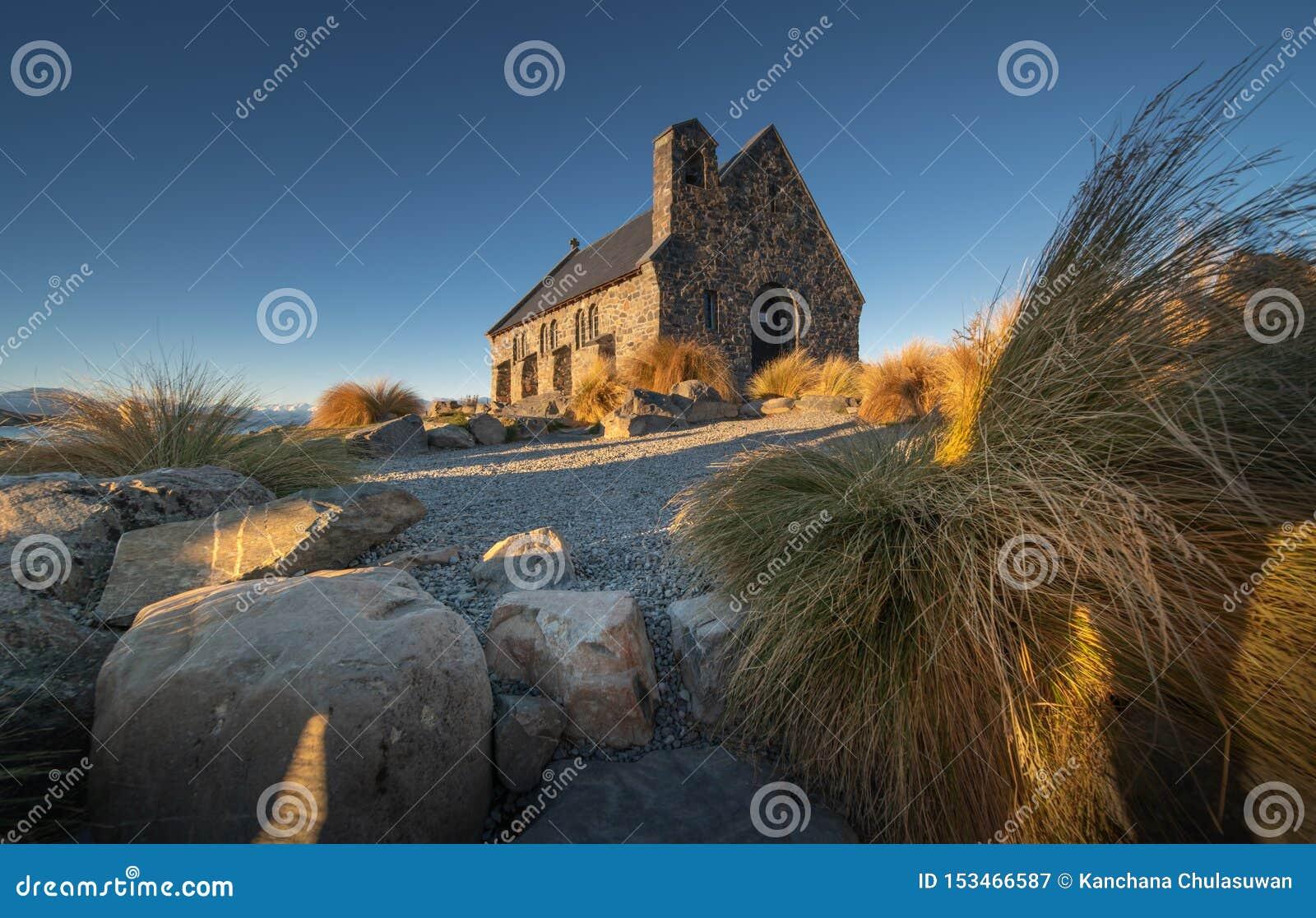 De hemel van Nice over de Kapel van de Goede Herder, Meer Tekapo