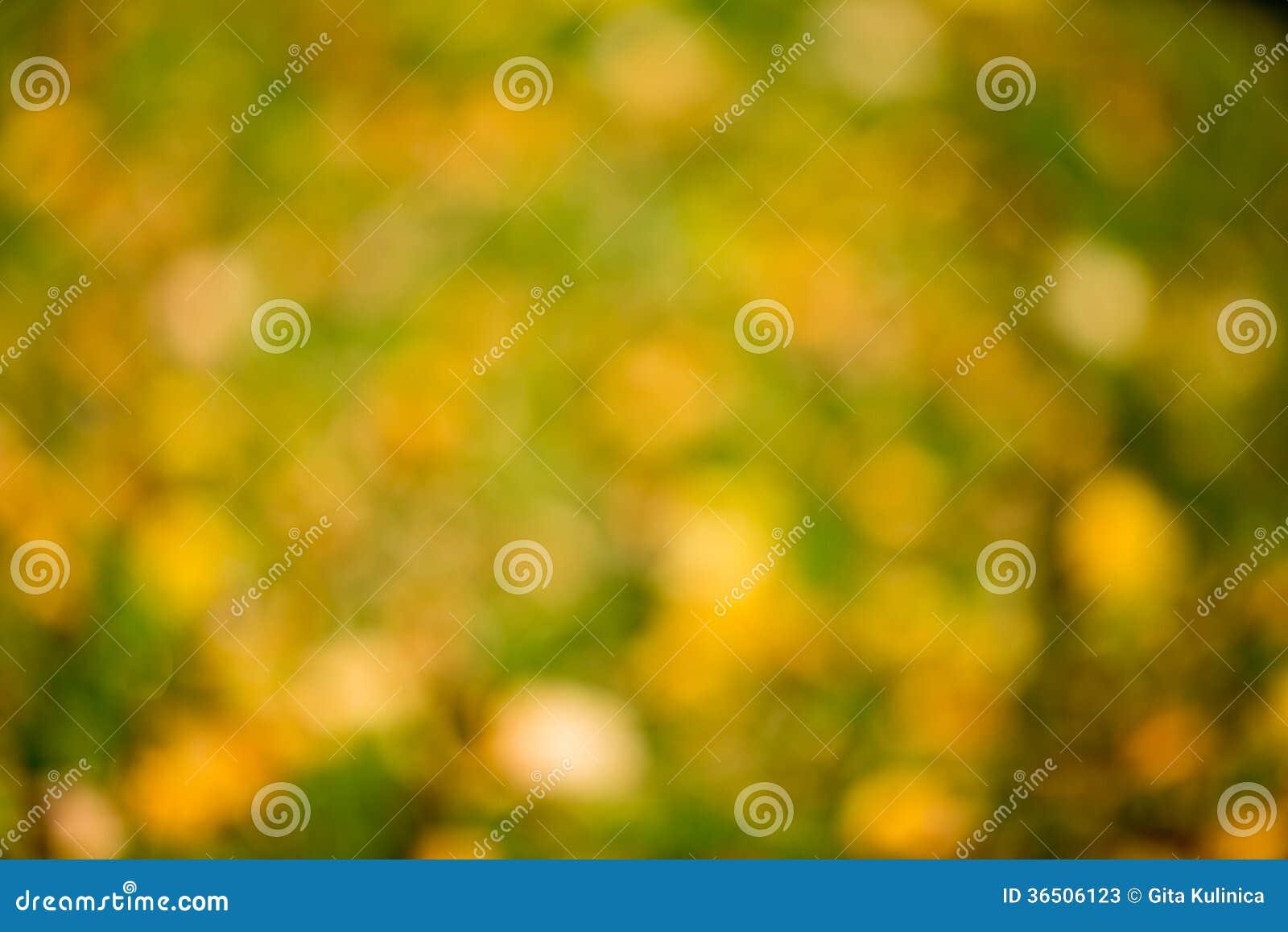 De herfst bokeh