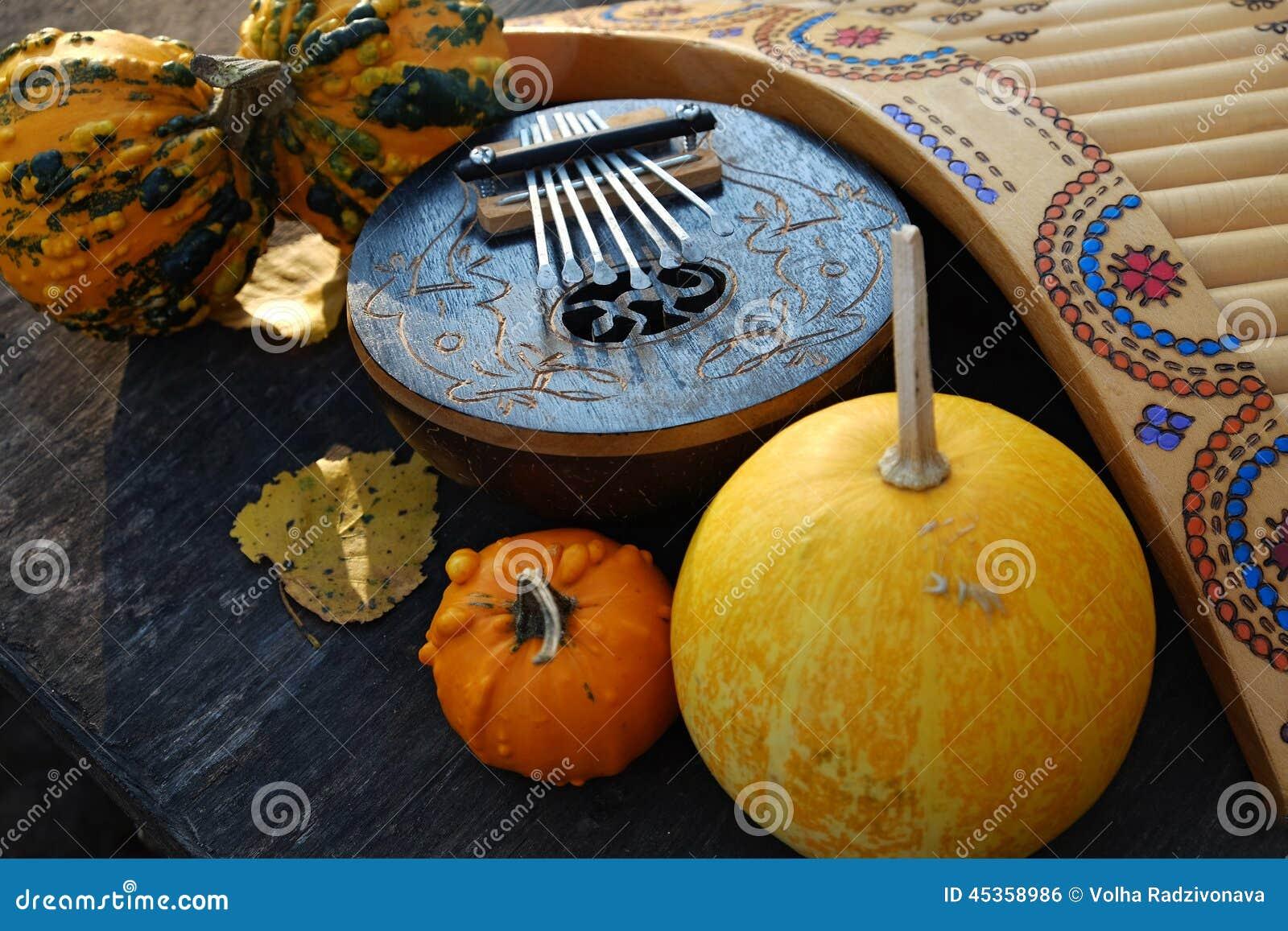 De herfst Halloween