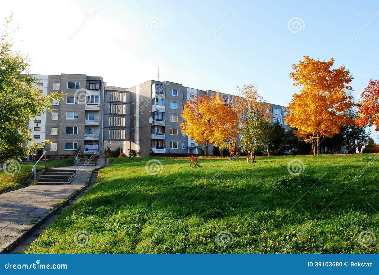 De herfst in Vilnius-stad