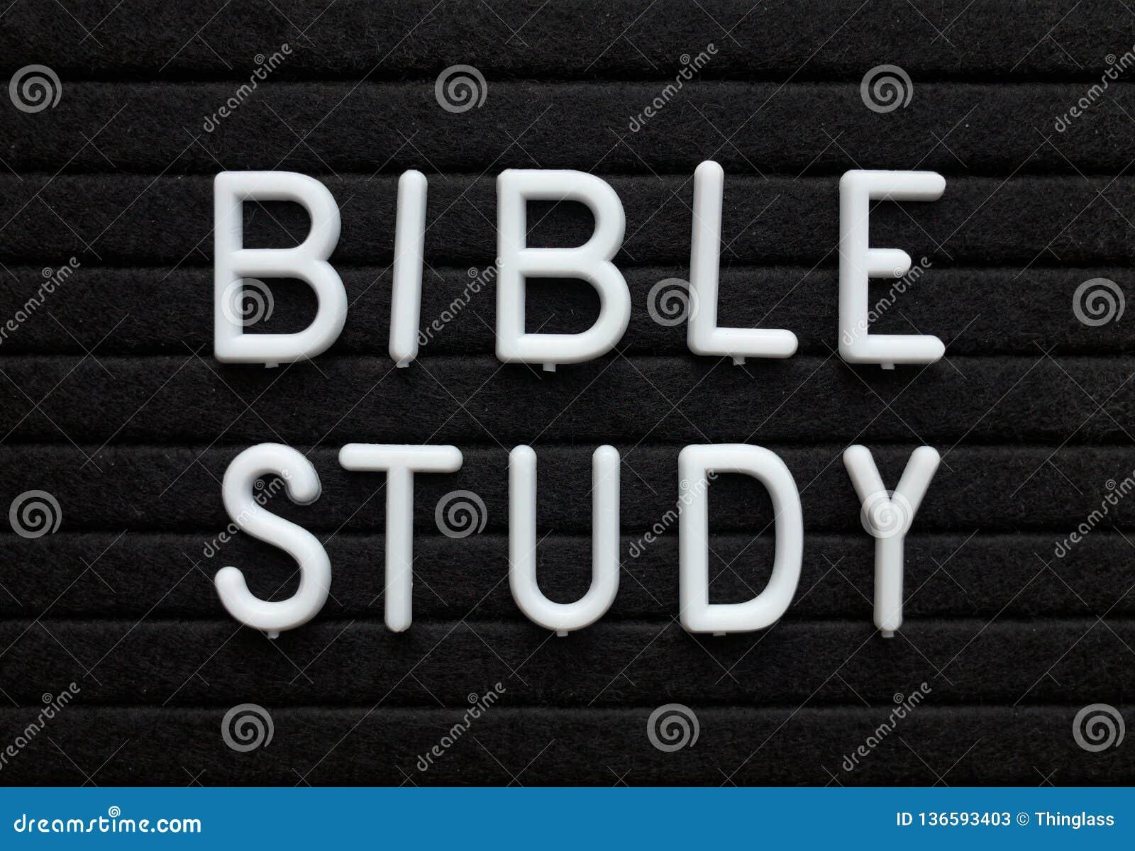 De Herinnering van de bijbelstudie op een Berichtraad