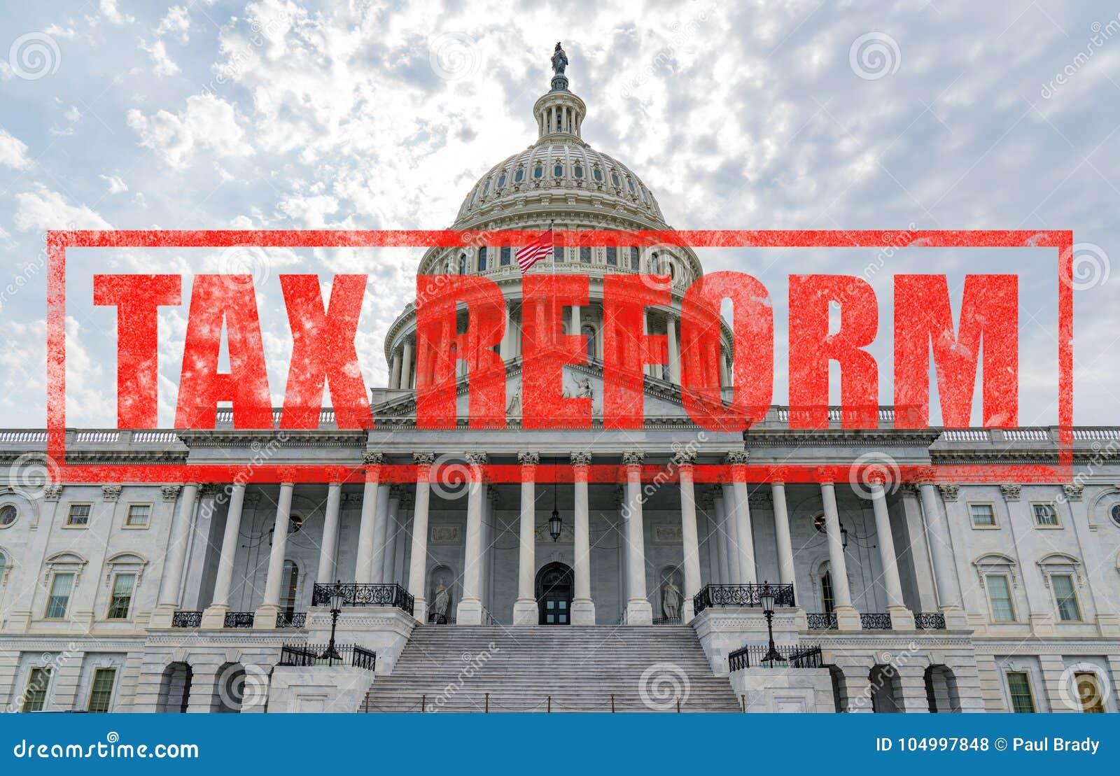 De Hervorming van de het Capitoolbelasting van Verenigde Staten