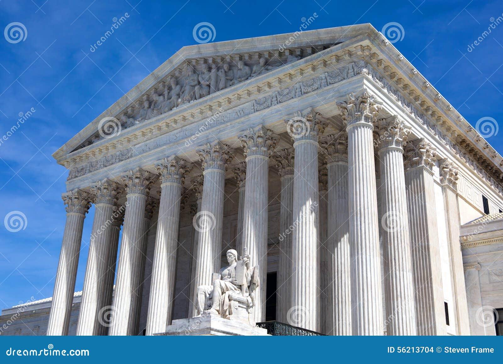De het Hooggerechtshofbouw van Verenigde Staten