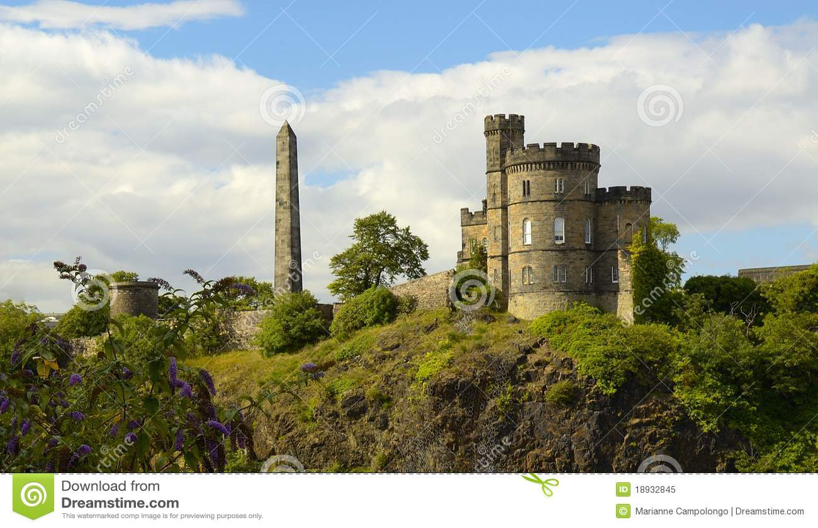De Heuvel Edinburgh Schotland van Calton