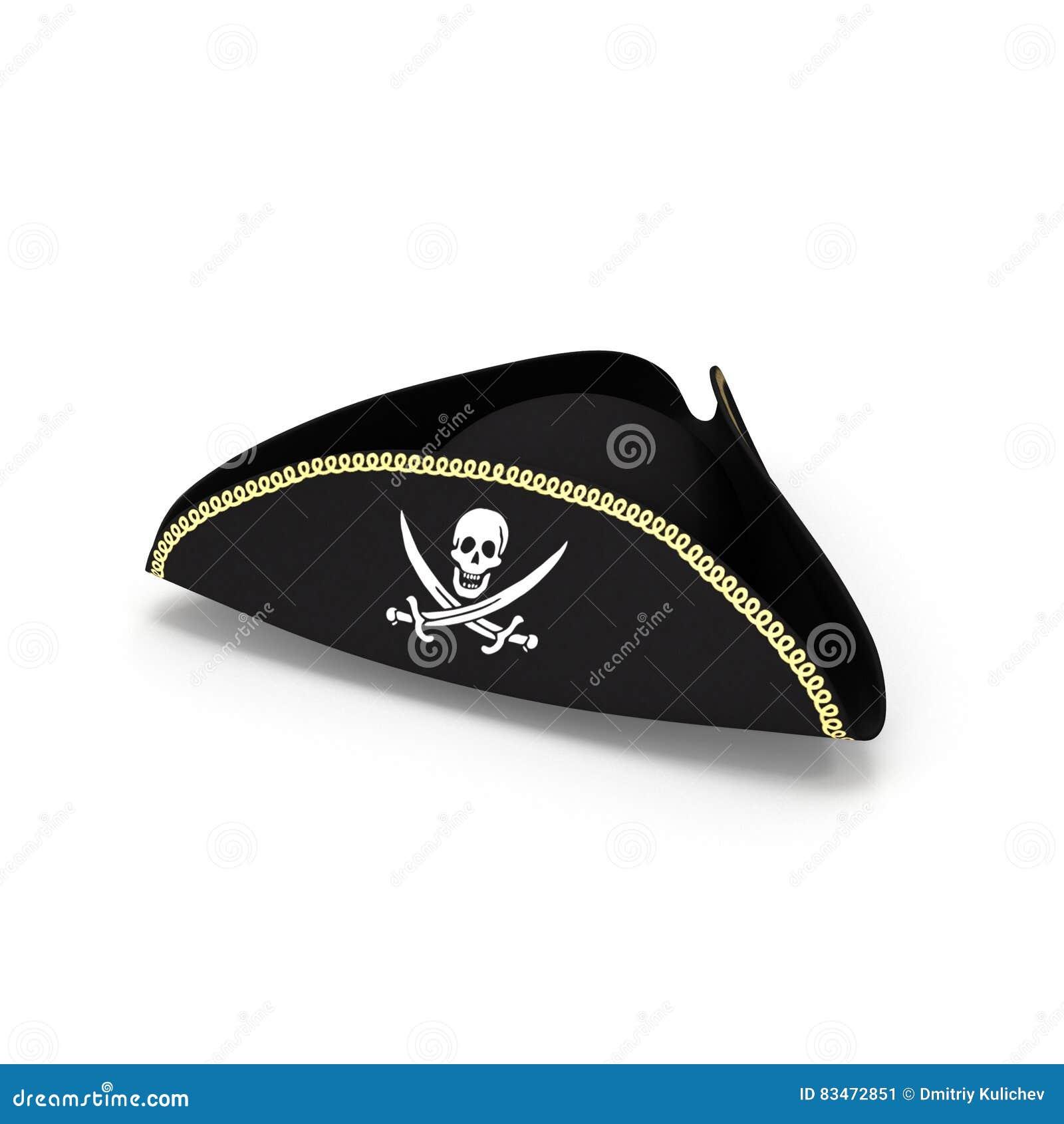 De hoed van de piraat
