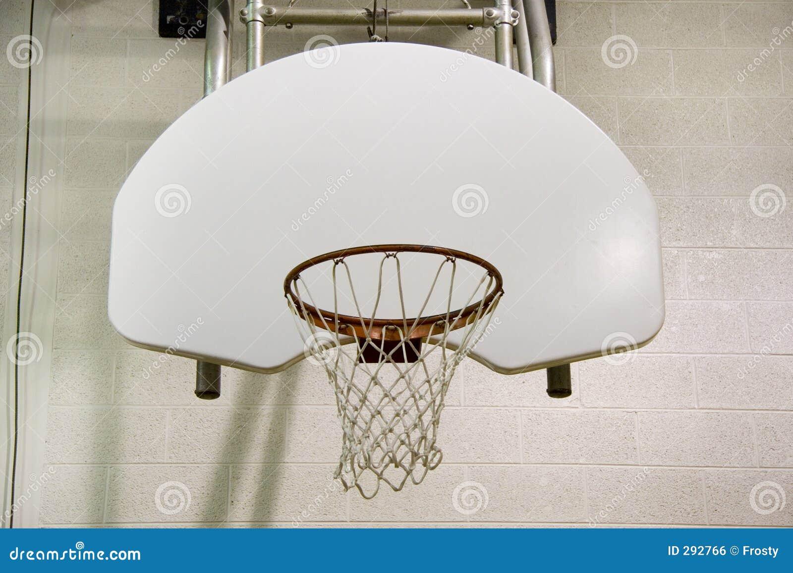 De hoepel van het basketbal