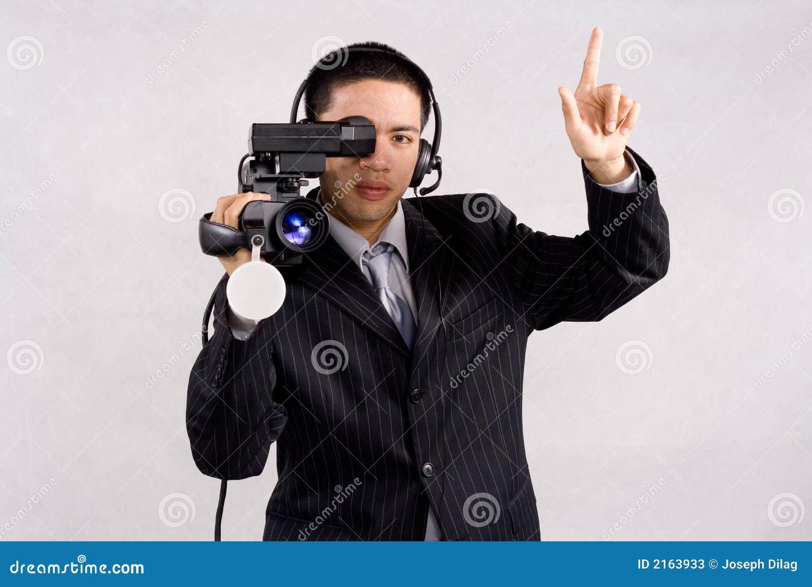 De hoge definitie van Videocamera
