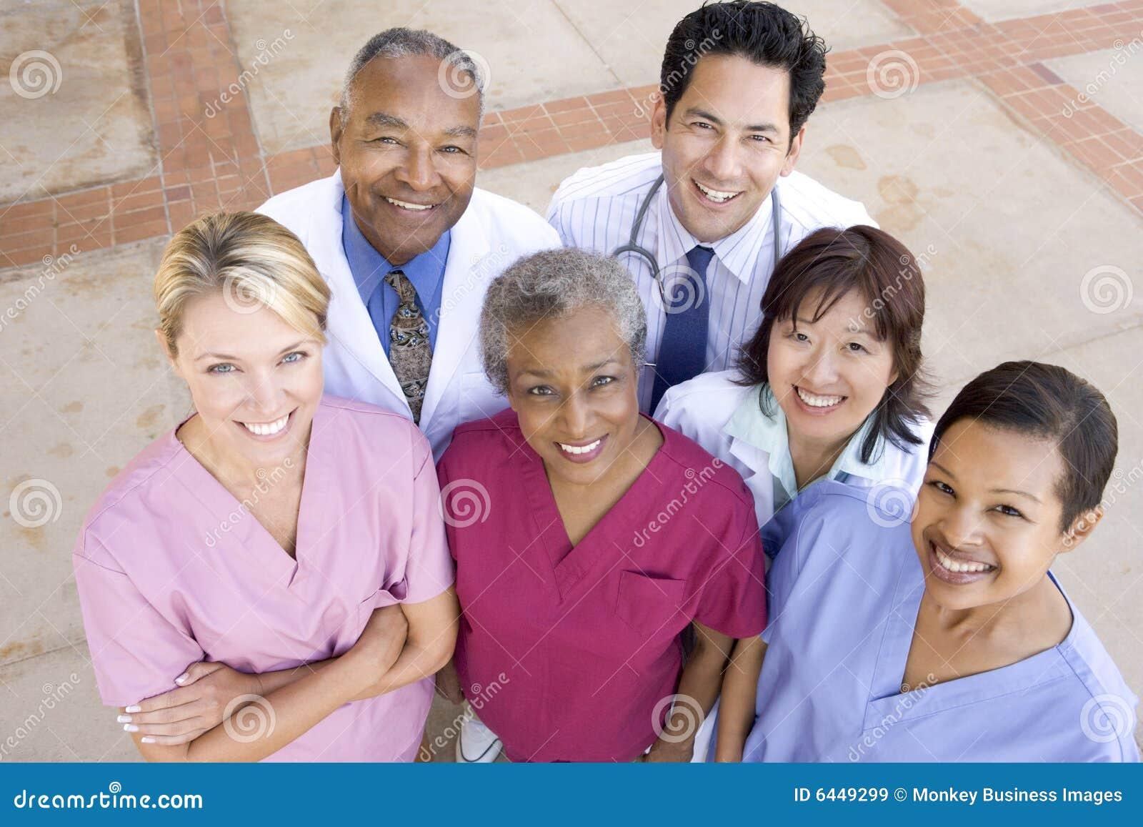 De hoge Mening van de Hoek van het Personeel van het Ziekenhuis