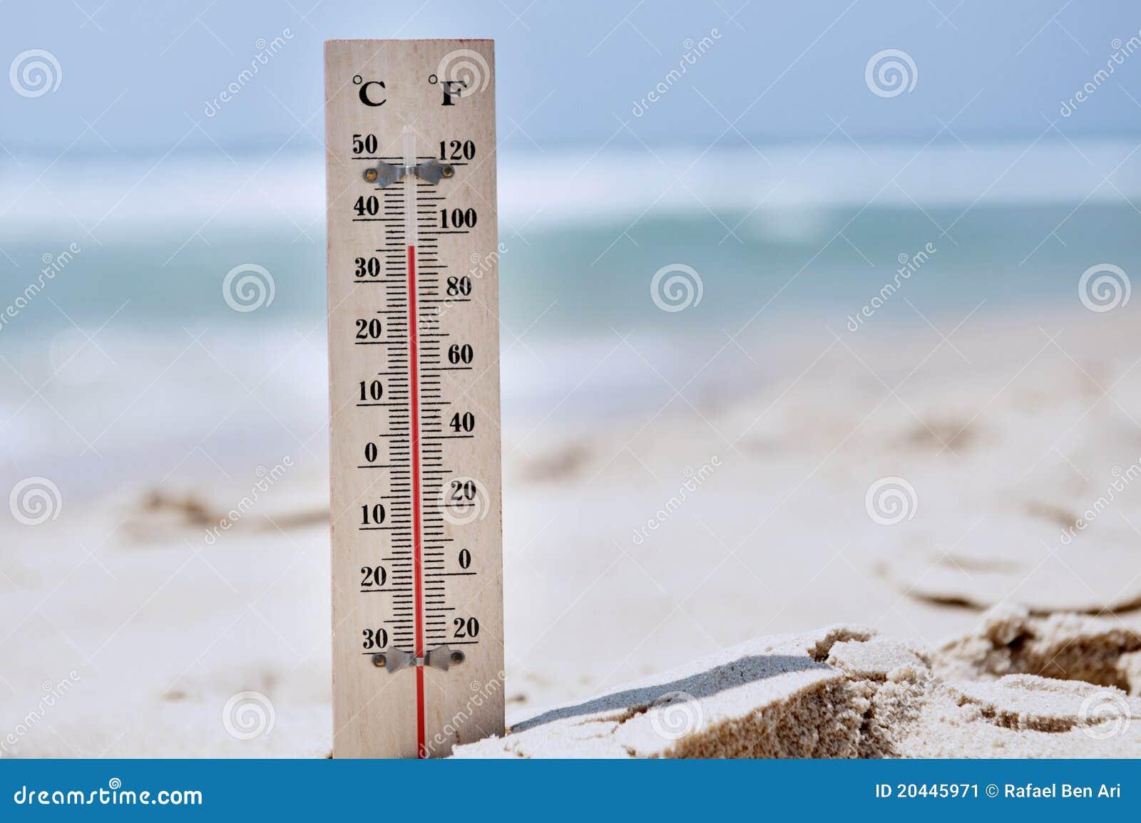 De Hoge Temperaturen van de hittegolf